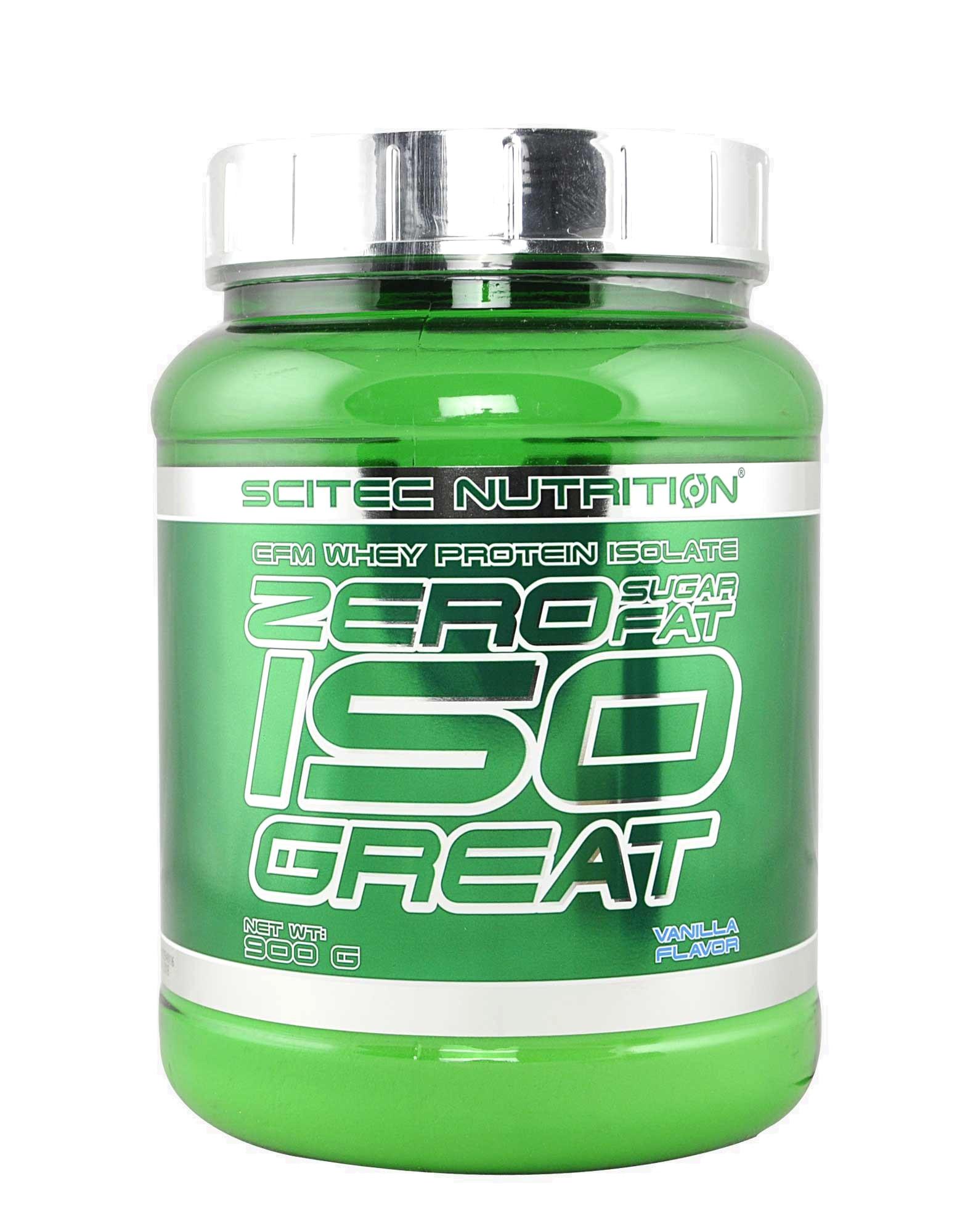 zero sugar zero fat iso great by scitec nutrition 900 grams. Black Bedroom Furniture Sets. Home Design Ideas
