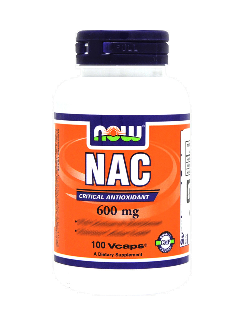 NAC By NOW FOODS (100 Capsules