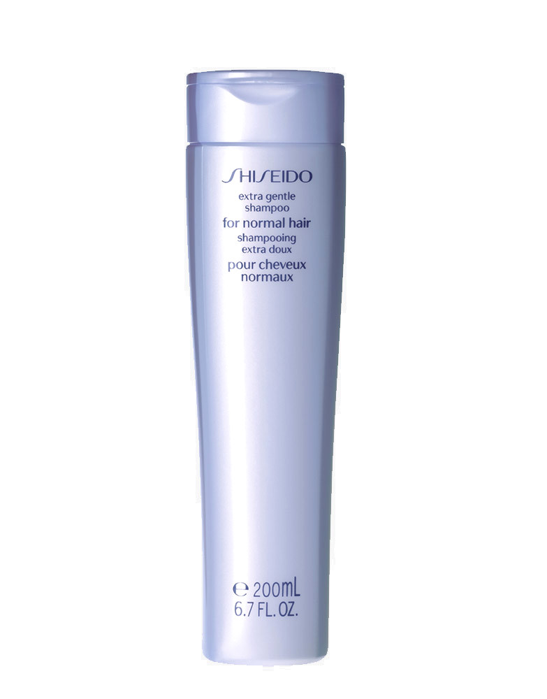 shiseido hair styling products gentle shampoo for hair by shiseido 200ml 8323