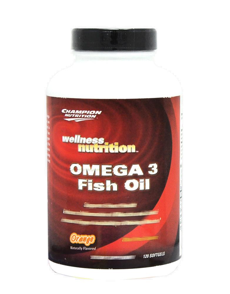 Omega 3 fish oil di champion nutrition 120 capsule 13 75 for Non fish omega 3
