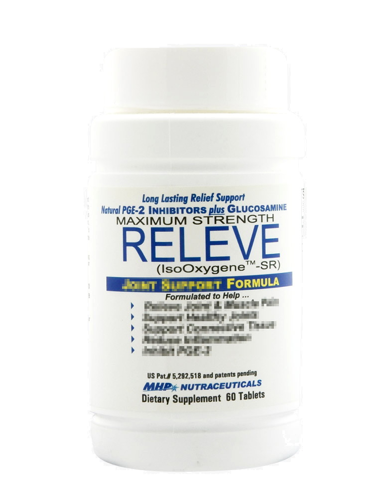 Releve by Mhp, 60 tablets - iafstore com