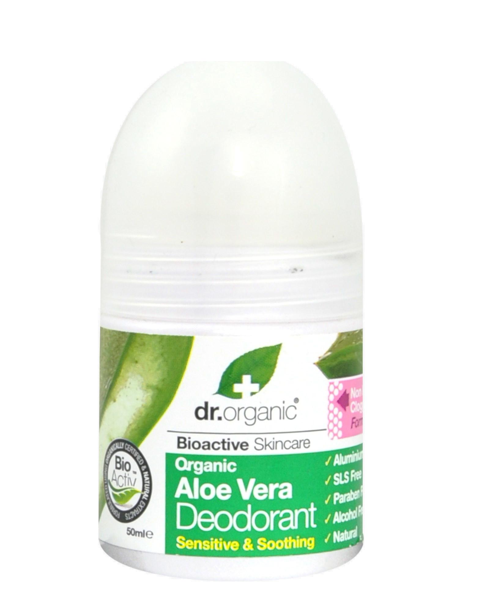 dr organic aloe vera deodorant