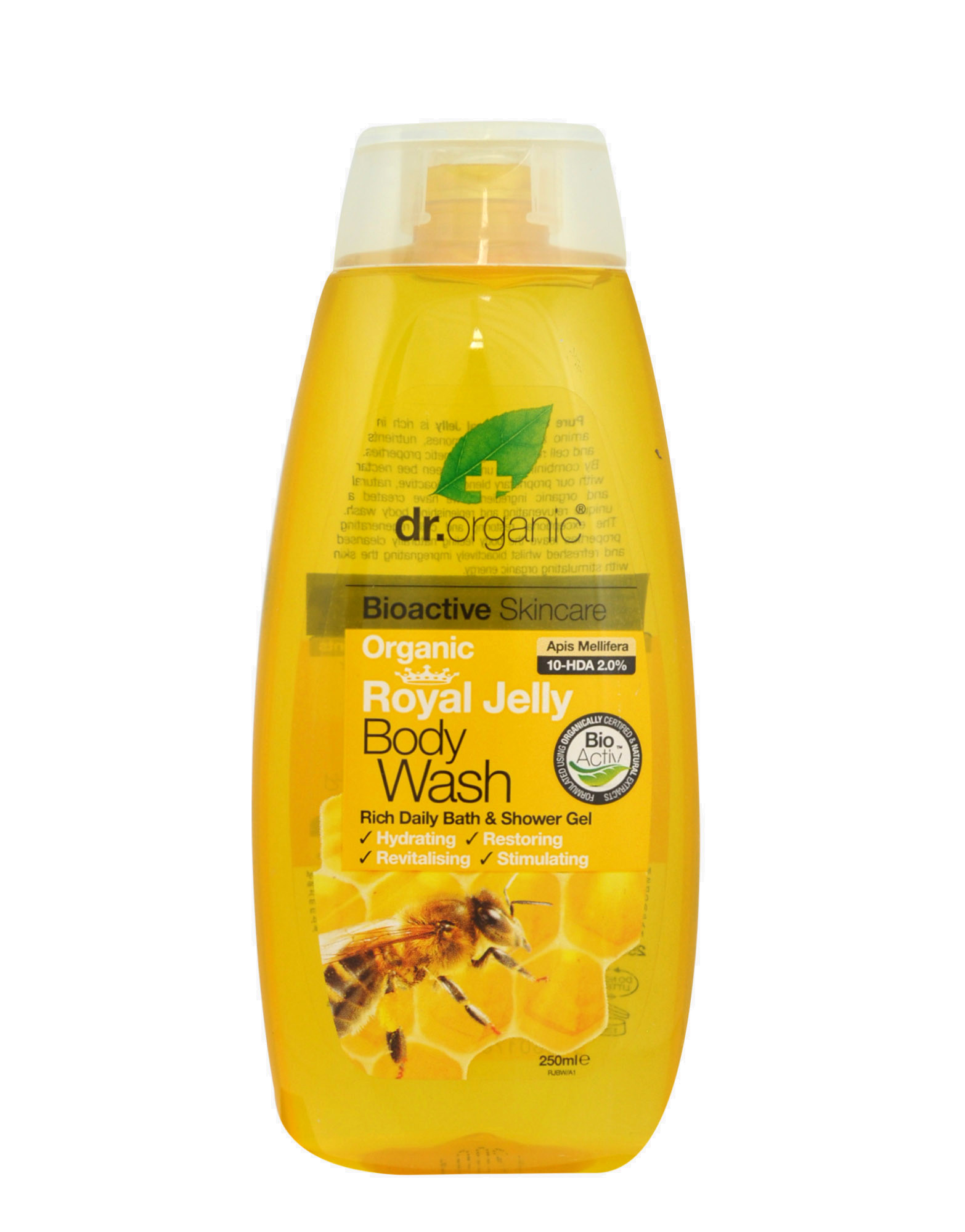 Organic Royal Jelly - Body Wash 250ml