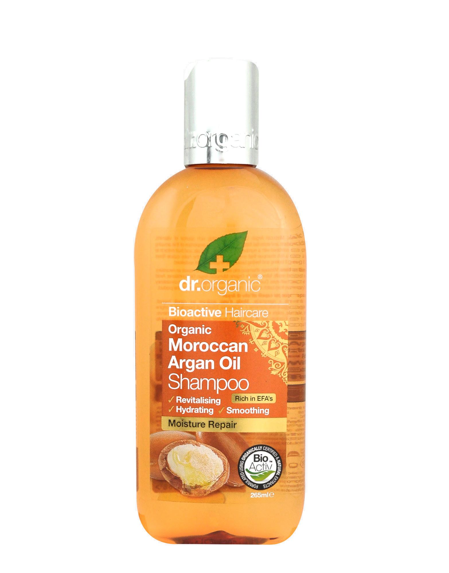 argan shampoo dr organic