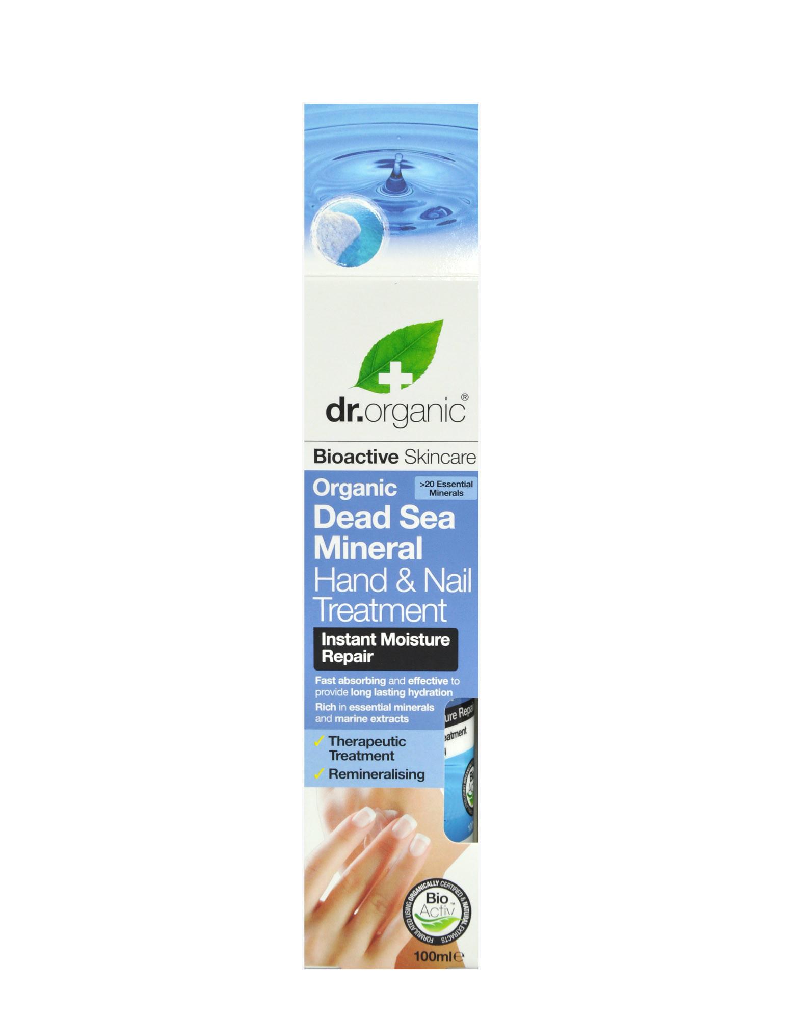 Organic Dead Sea Mineral - Hand & Nail Treatment by DR. ORGANIC ...