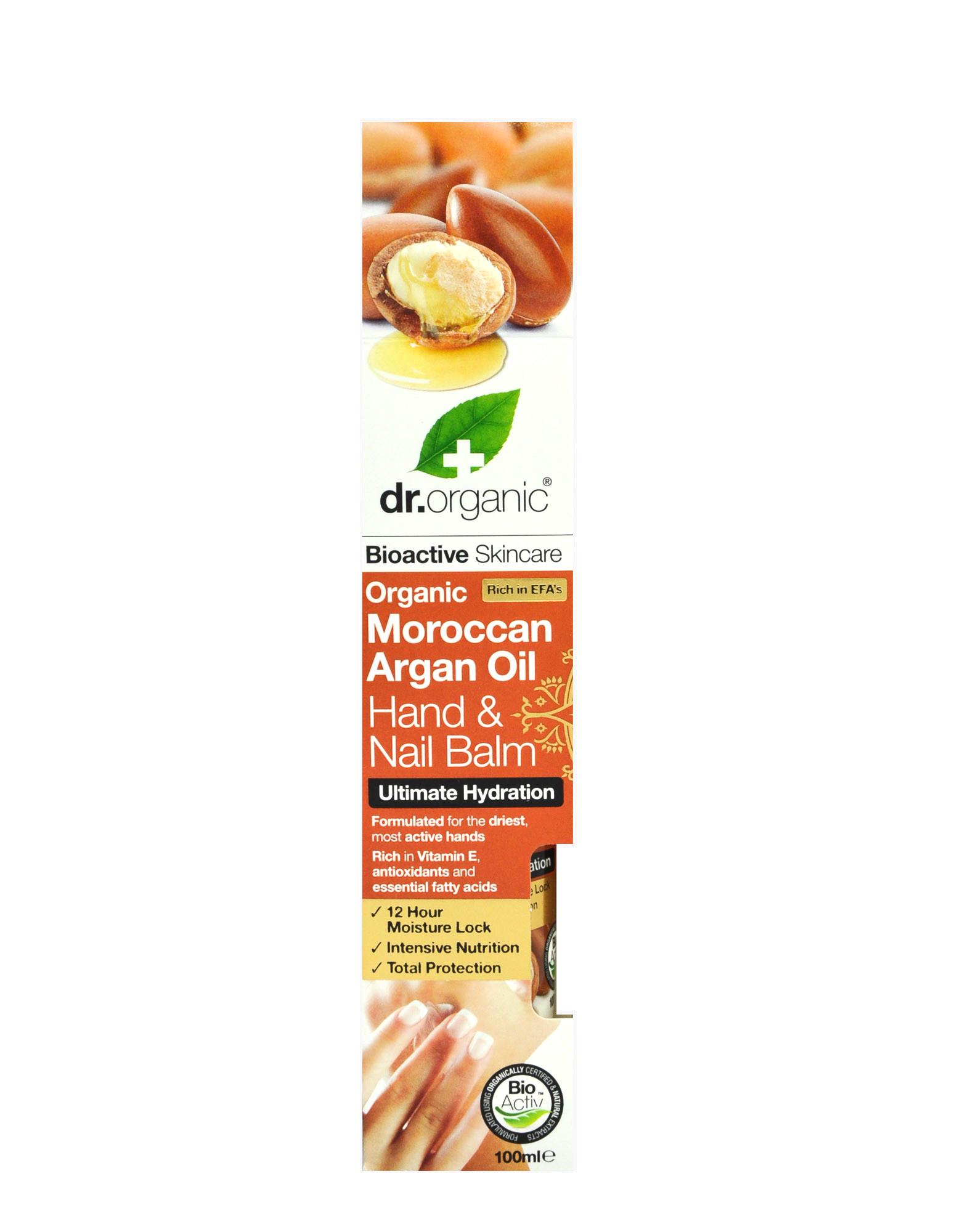 Organic Moroccan Argan Oil - Hand