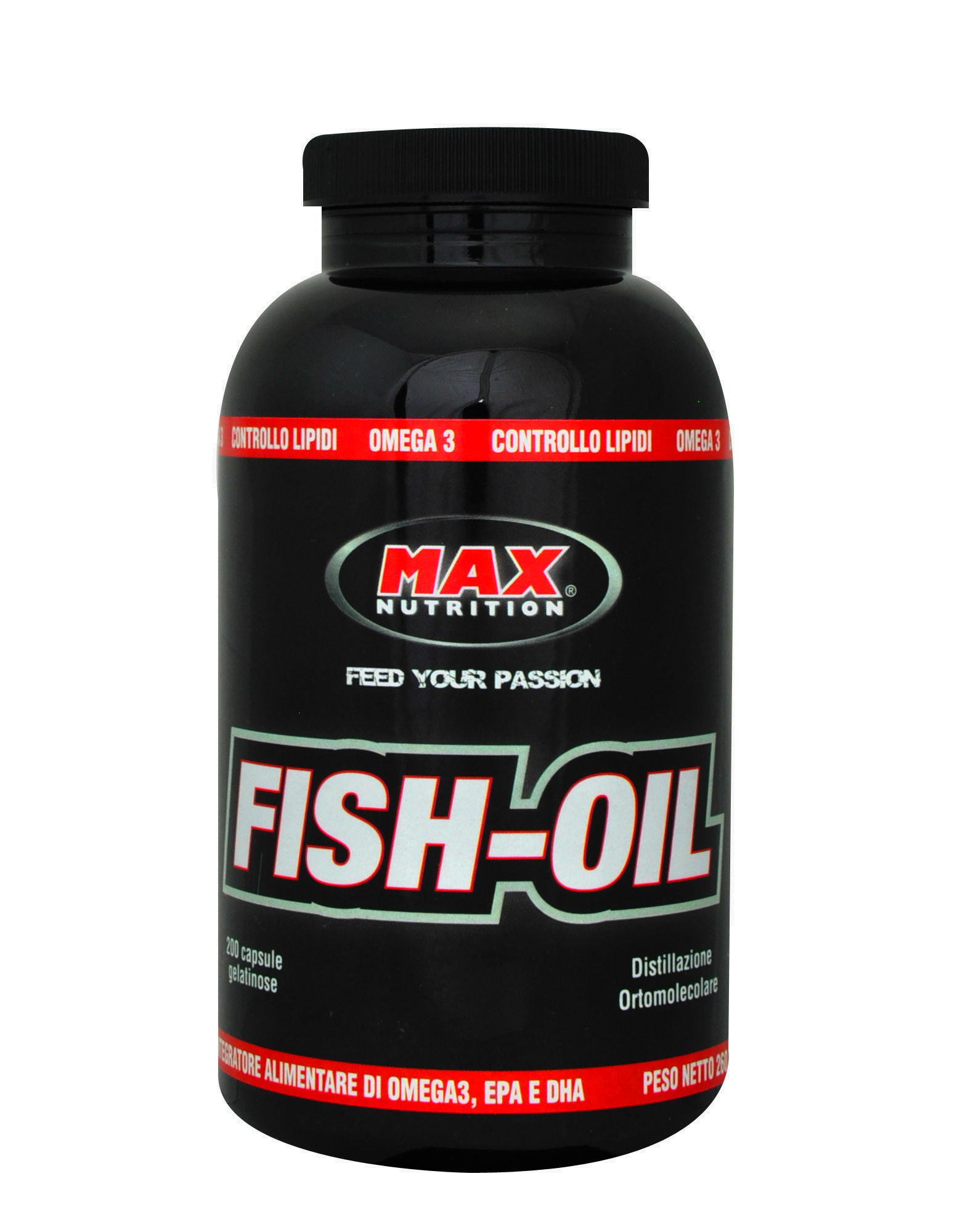 Fish oil di max nutrition 200 capsule 18 70 for Fish oil nutrition