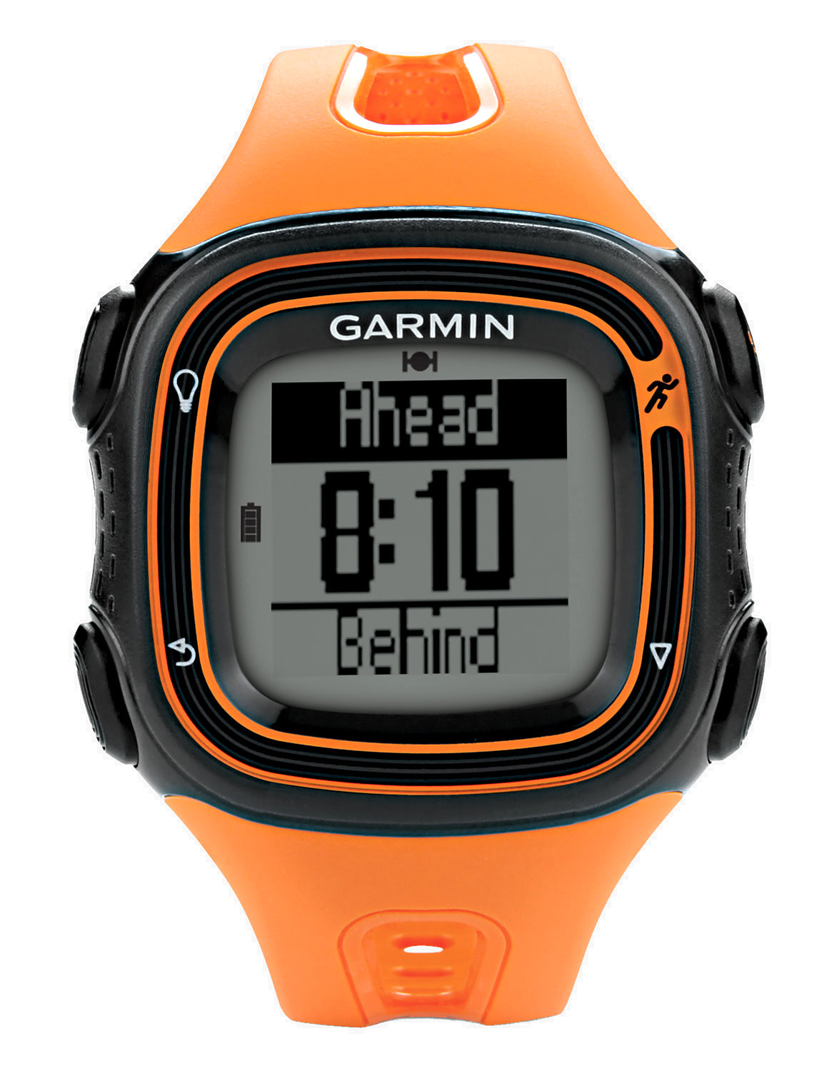 forerunner 10 by garmin colour orange 34 06. Black Bedroom Furniture Sets. Home Design Ideas