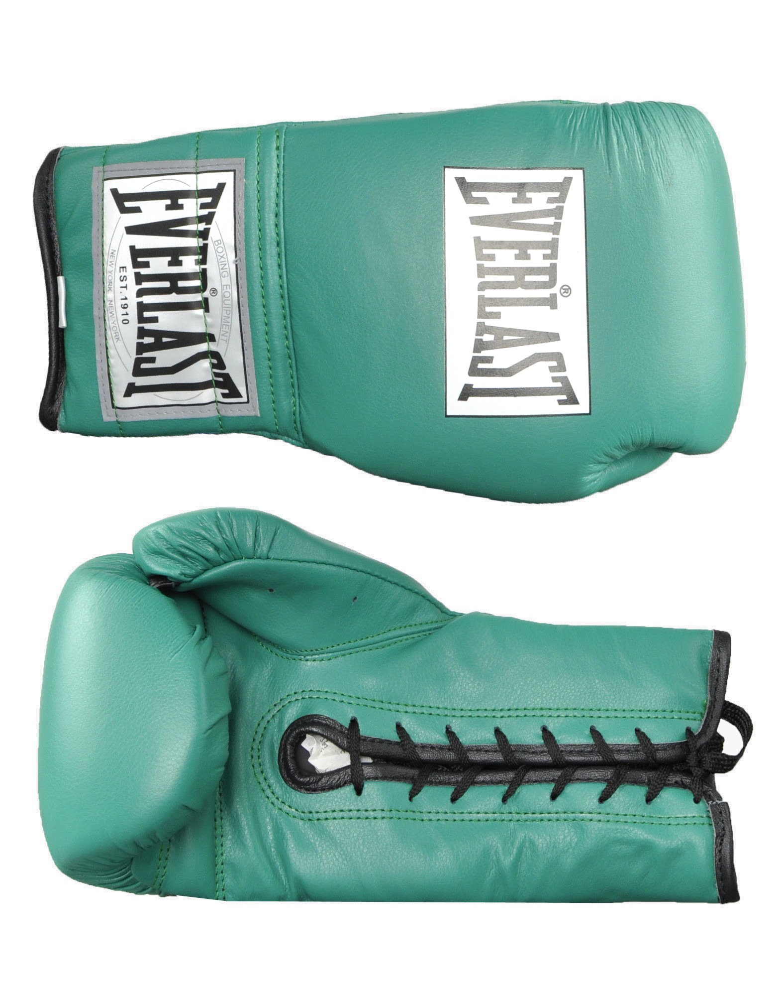 Shiv Naresh Teens Boxing Gloves 12oz: Leather Laced Training Gloves By EVERLAST BOXING (colour