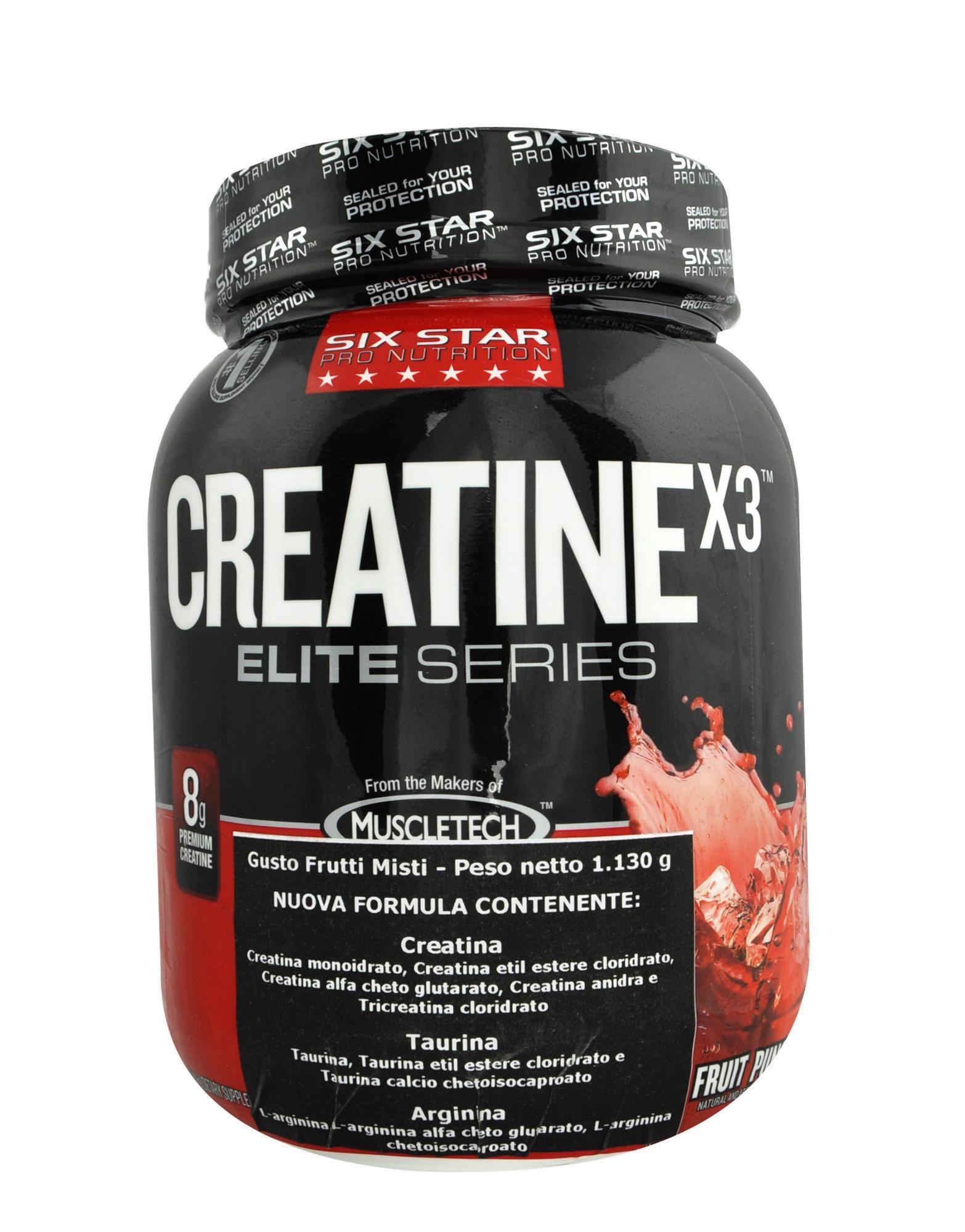 Creatine X3 by Six star pro nutrition