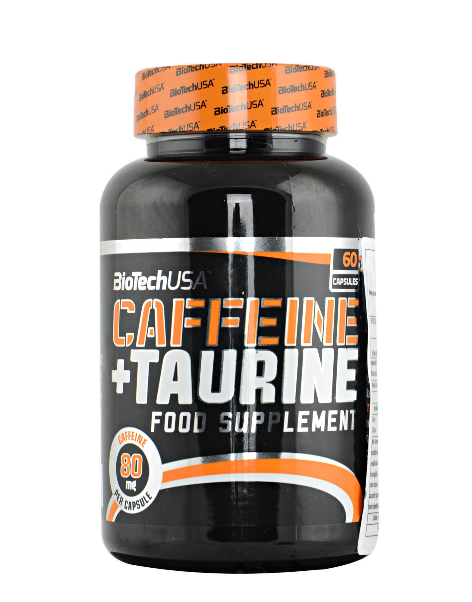 caffeine taurine biotech usa 60 capsules. Black Bedroom Furniture Sets. Home Design Ideas