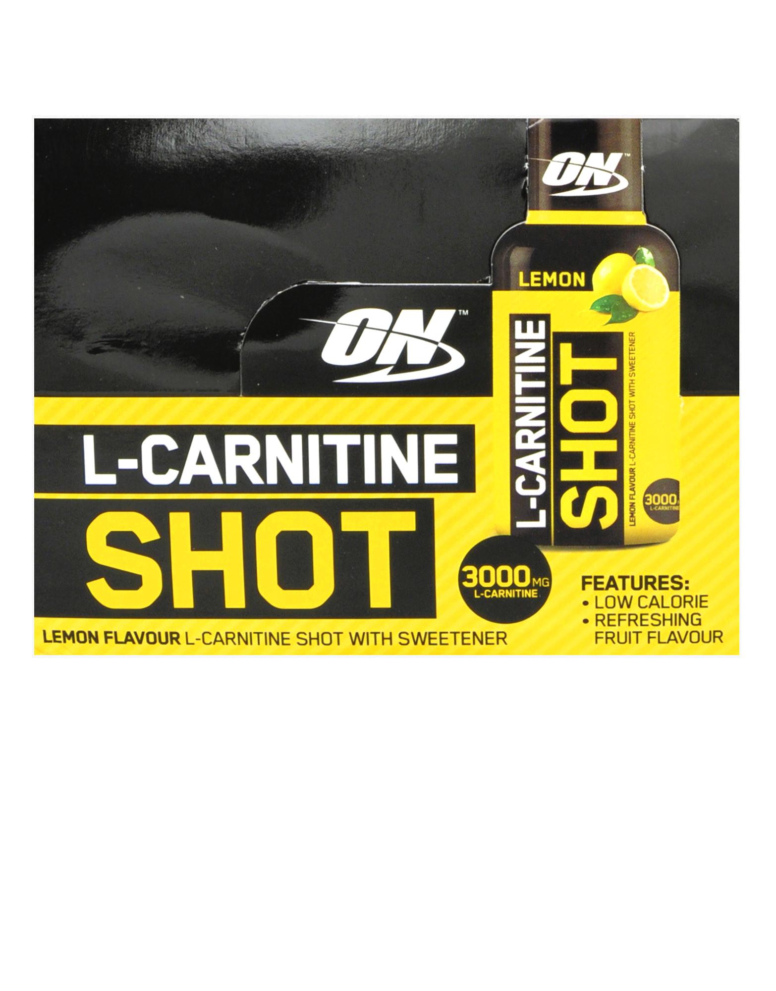L-Carnitine Shot by Optimum nutrition