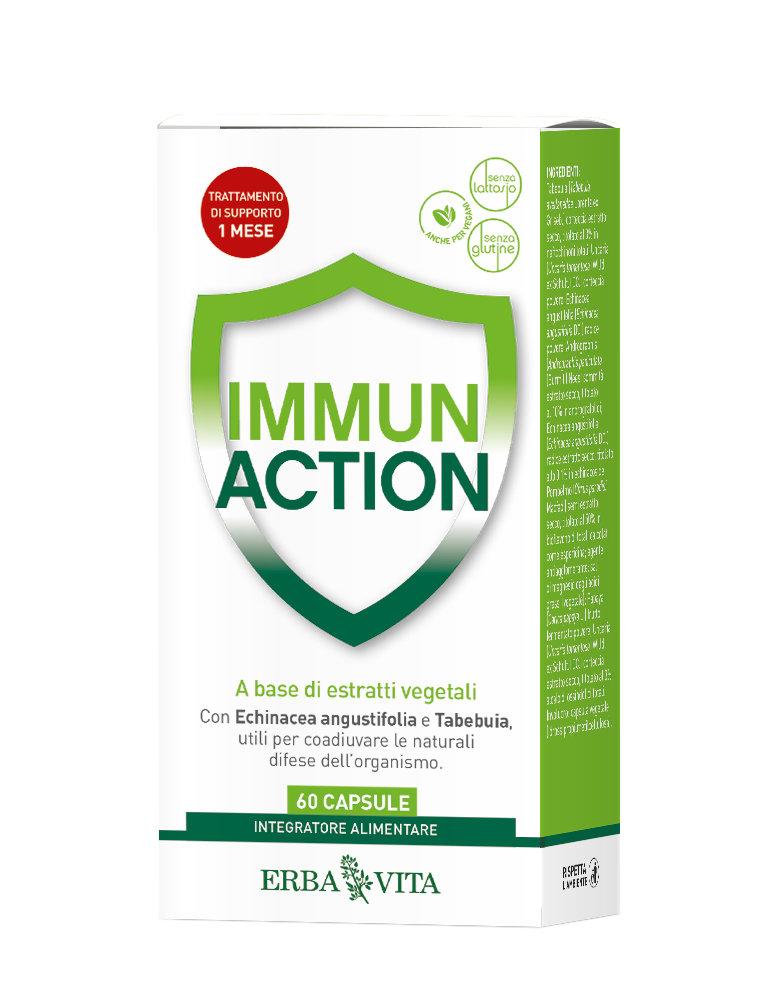 Immun Action Capsule Di ERBA VITA (60 Capsule) € 15,00