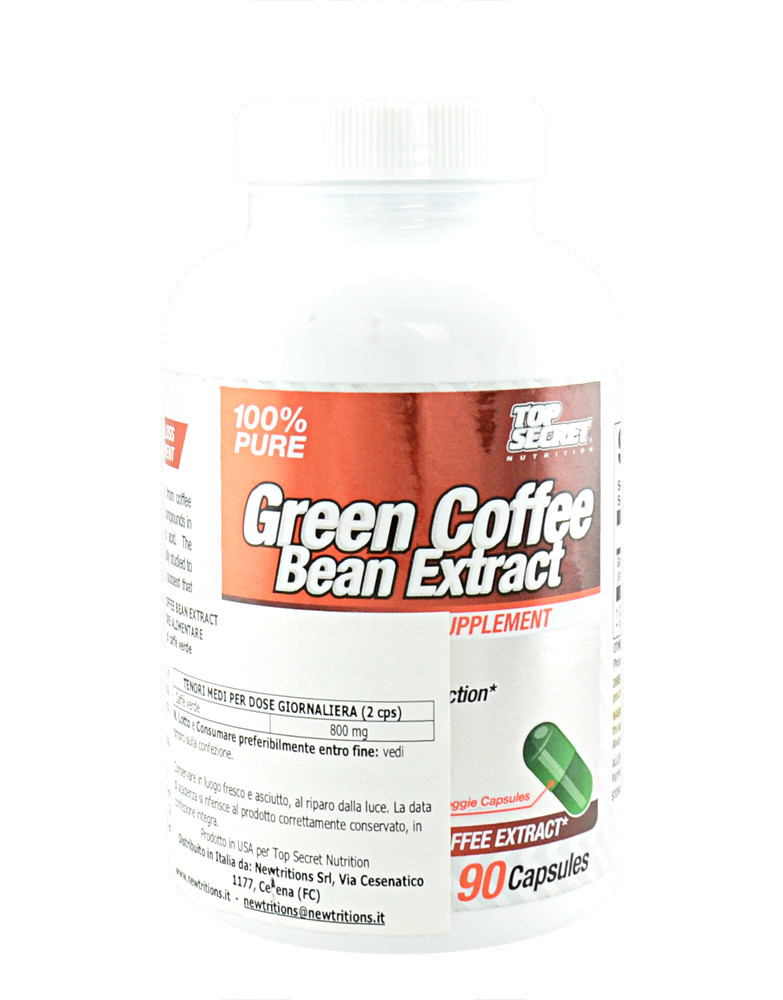 Green Coffee Bean Extract By Top Secret Nutrition 90 Capsules