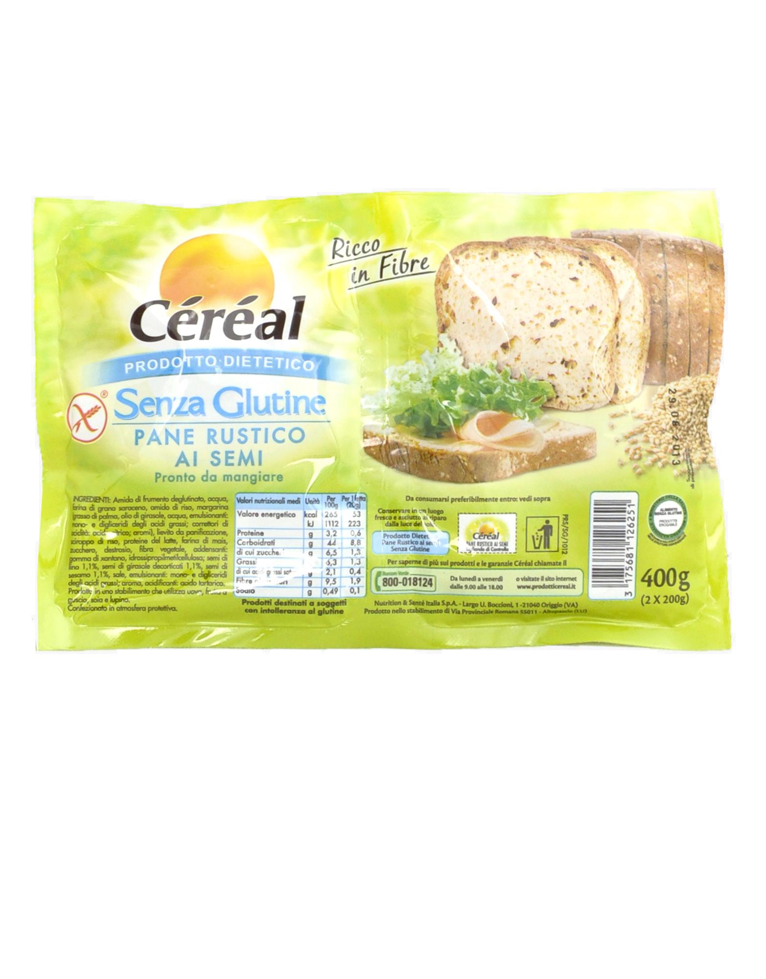 keto dietetico pane di segale