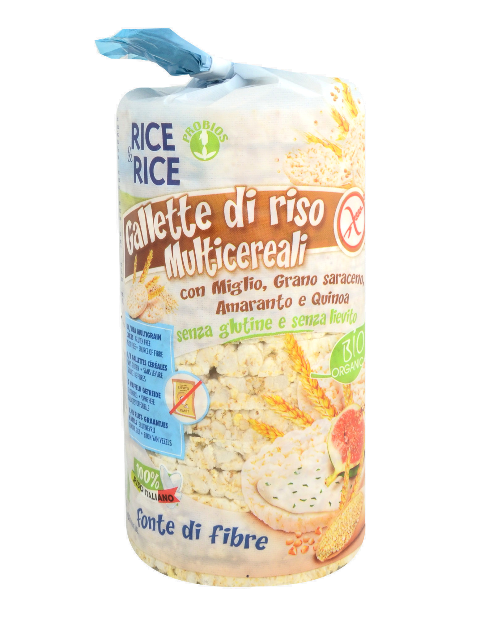 Rice Cake Multigrain Gluten Free 100 Grams
