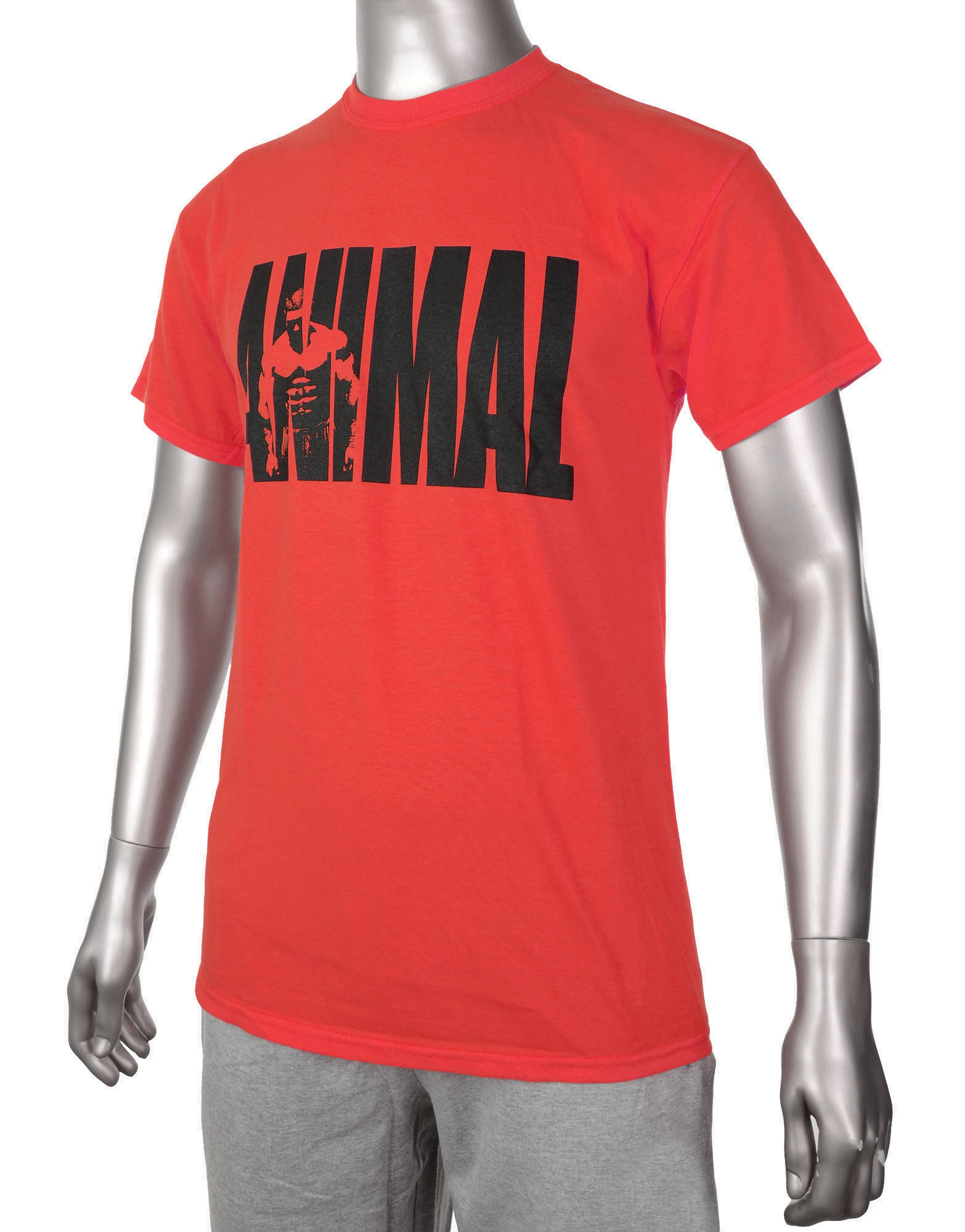 Animal iconic t shirt by animal gear colour red 8 40 for Animal tee shirts online