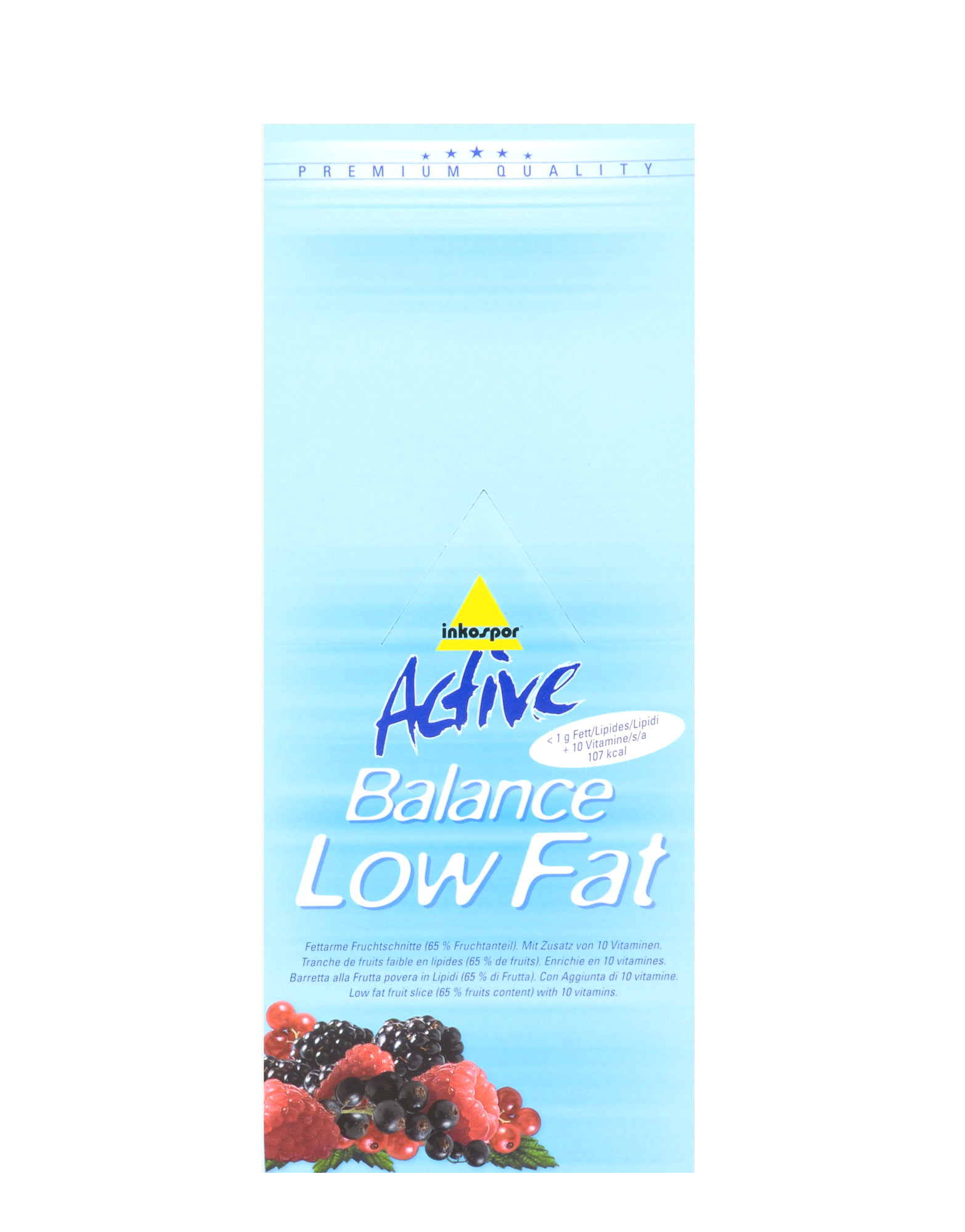 Low Fat Energy Bar 107
