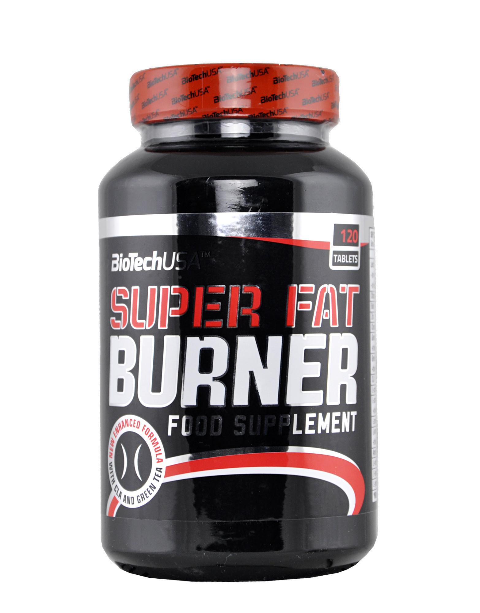 Biotech SUPER FAT BURNER 120 таблеток