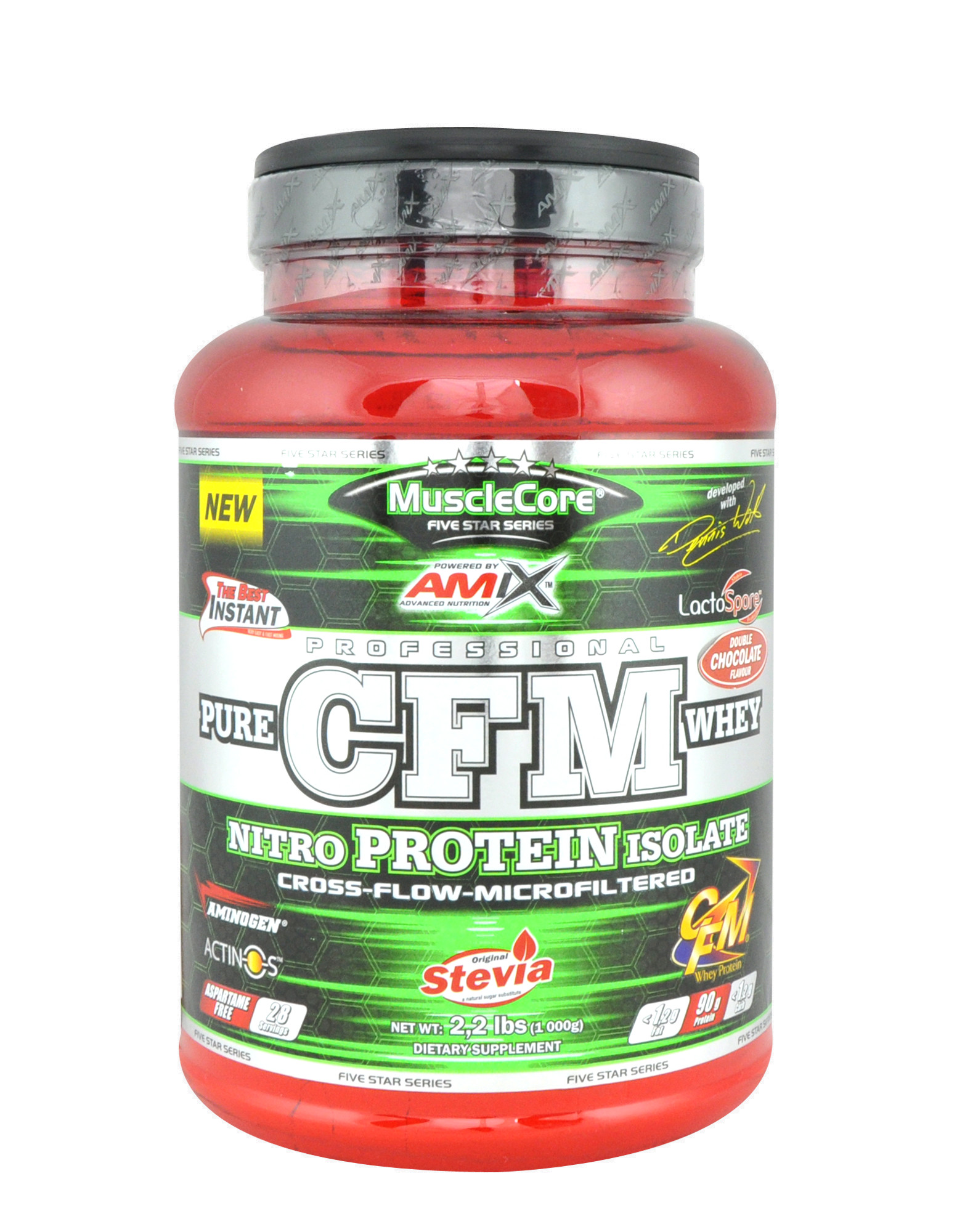 Výsledek obrázku pro Amix CFM Nitro Protein Isolate 1000 g