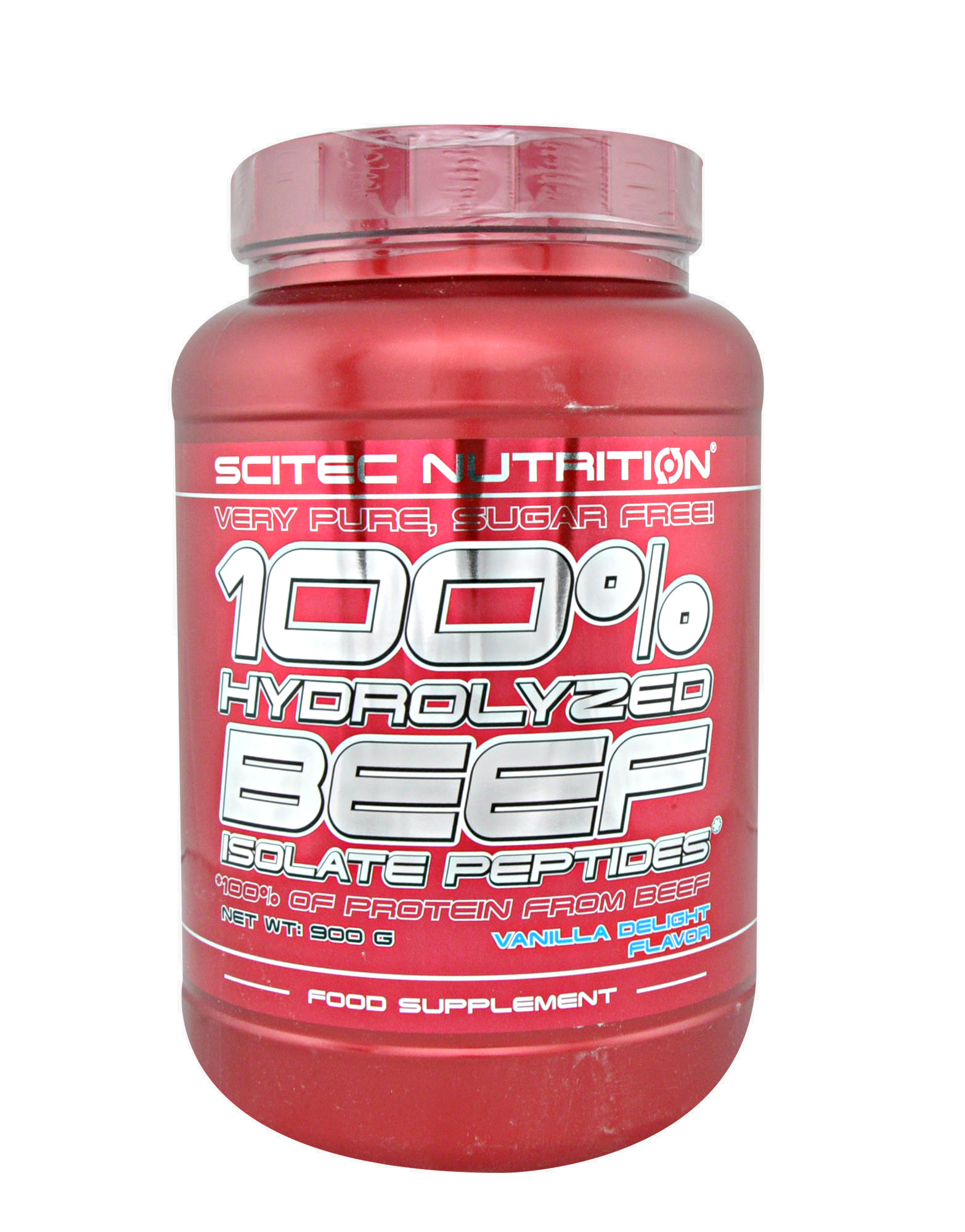 100 hydrolyzed beef isolate peptides scitec nutrition 900 grammes 27 93. Black Bedroom Furniture Sets. Home Design Ideas