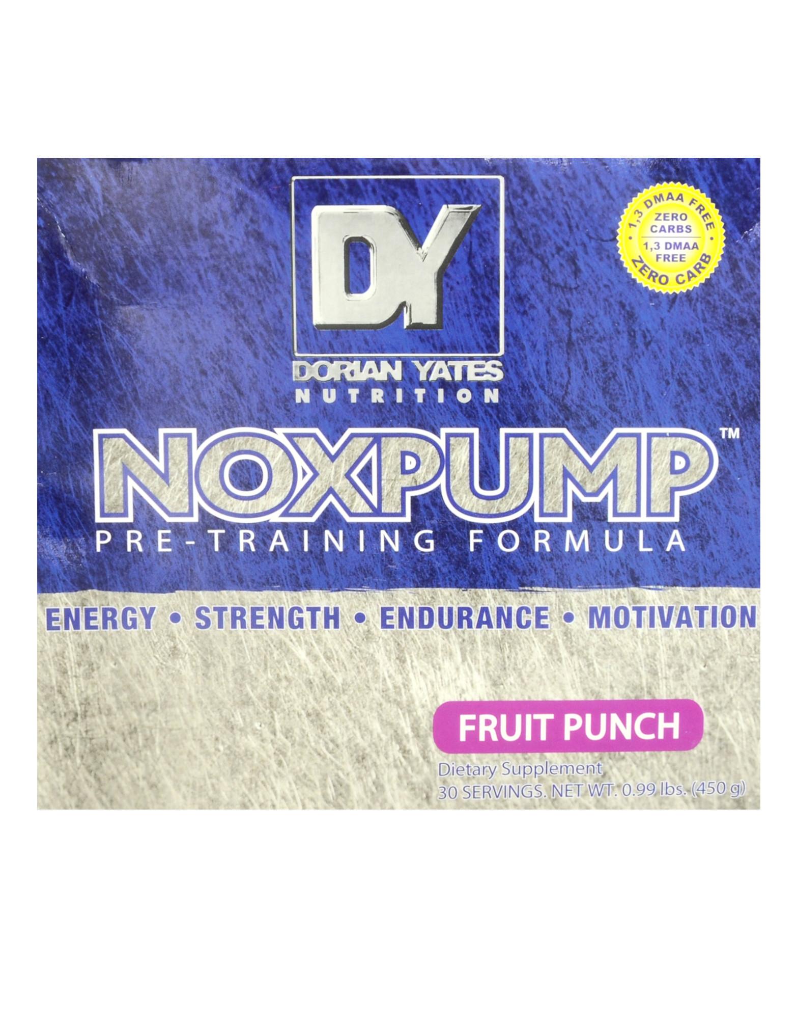 Noxpump By Dorian Yates Nutrition 30 Sachets Of 15 Grams Iafstore Com