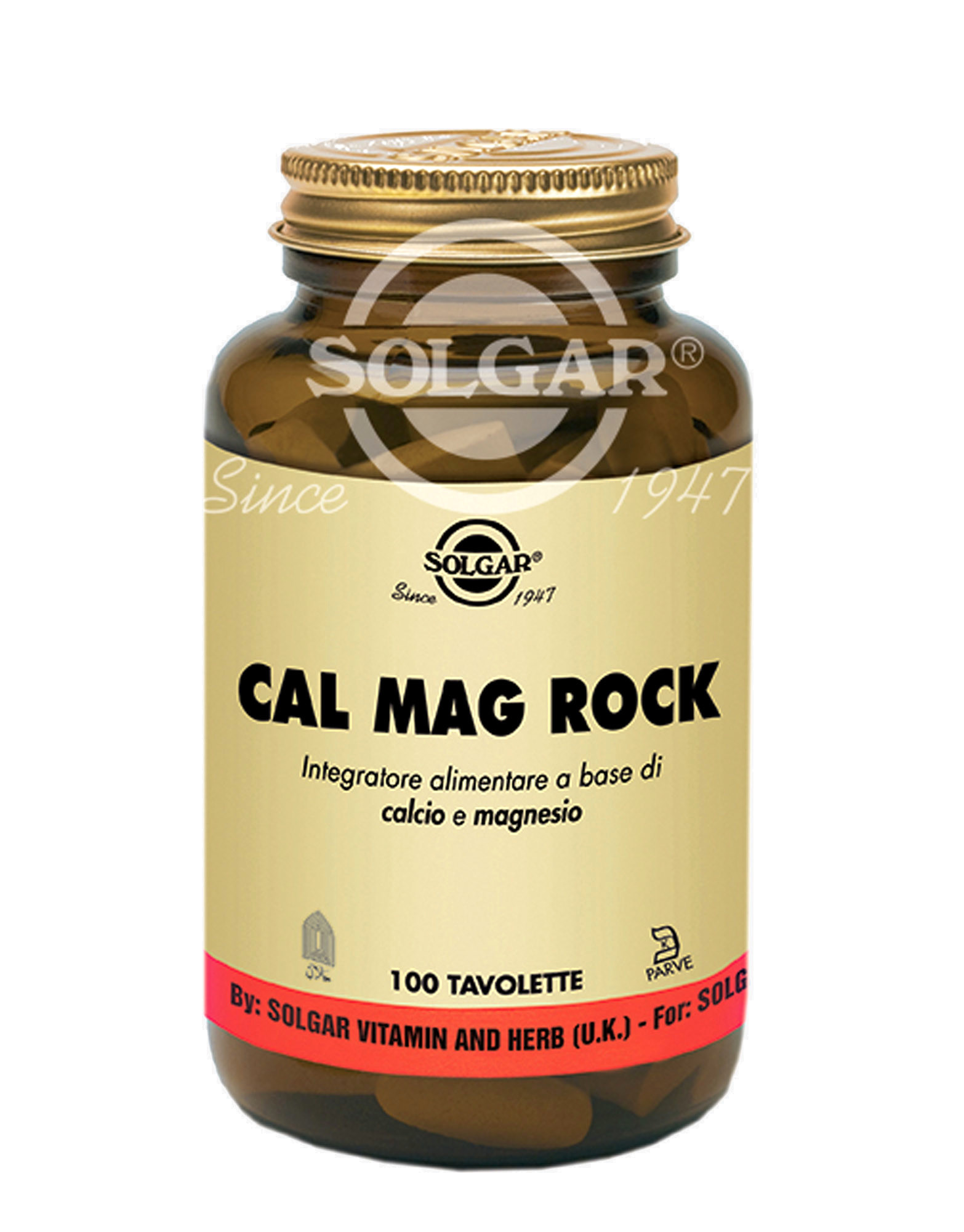Cal mag rock by solgar 100 tablets for Ca mag