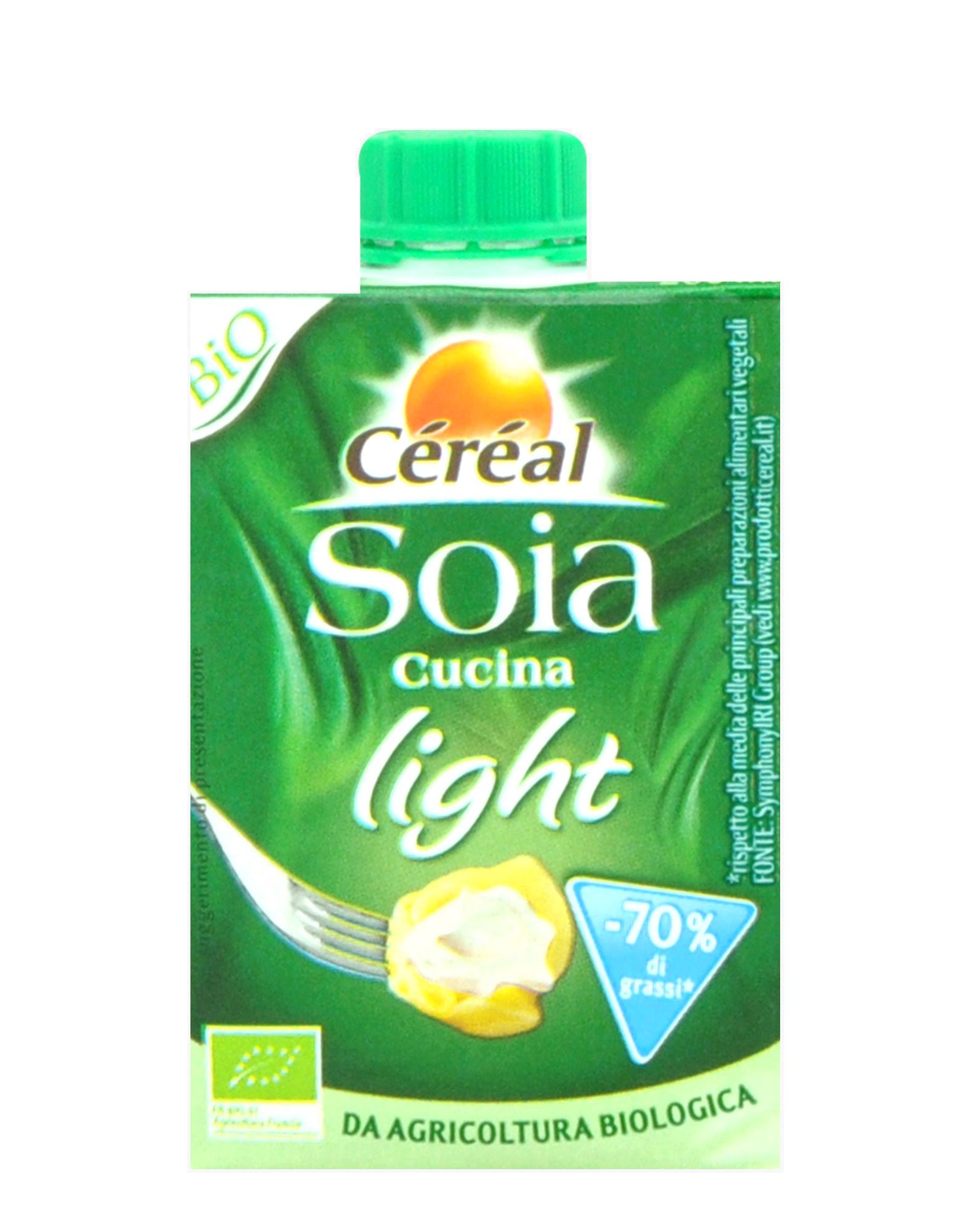Soia cucina light di c r al 200ml for Cucina light