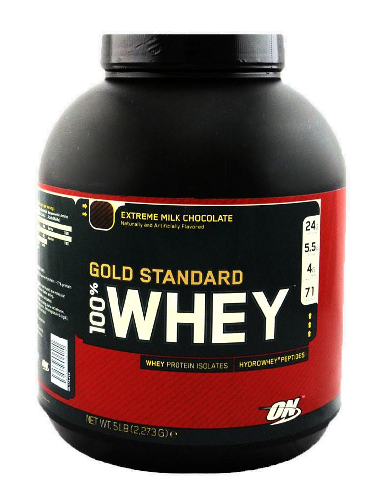 bb7799c5a 100% Whey Gold Standard por OPTIMUM NUTRITION (2270 gramos)