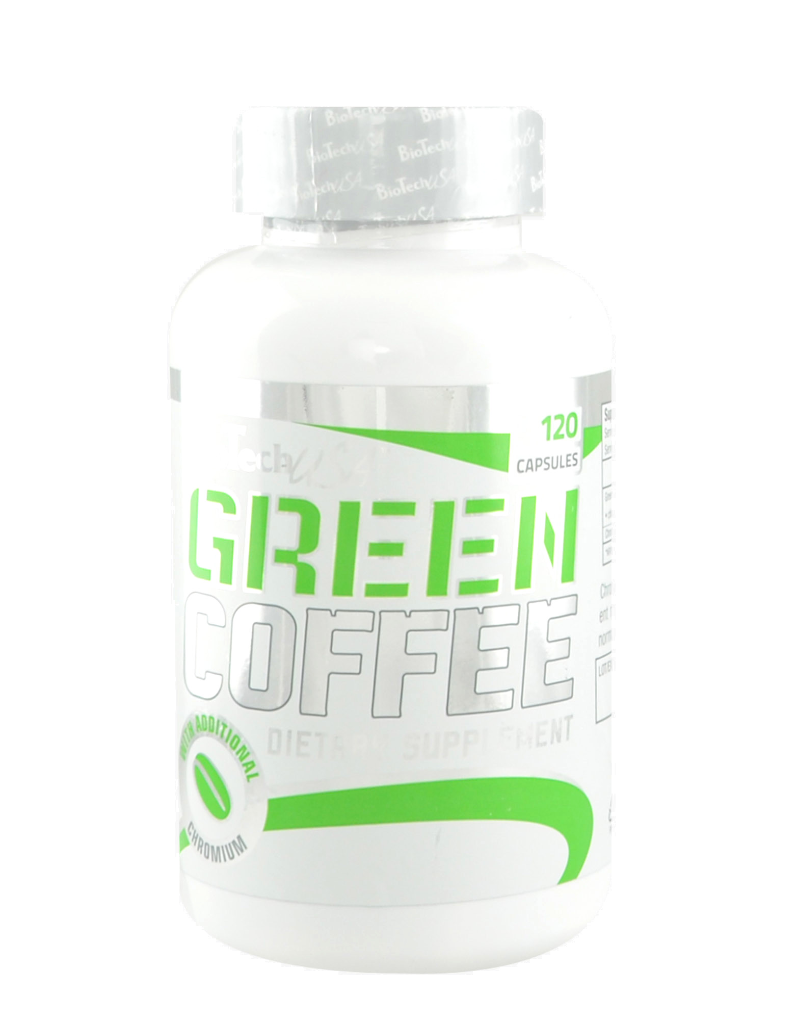 Green Coffee By Biotech Usa 120 Capsules Iafstore Com