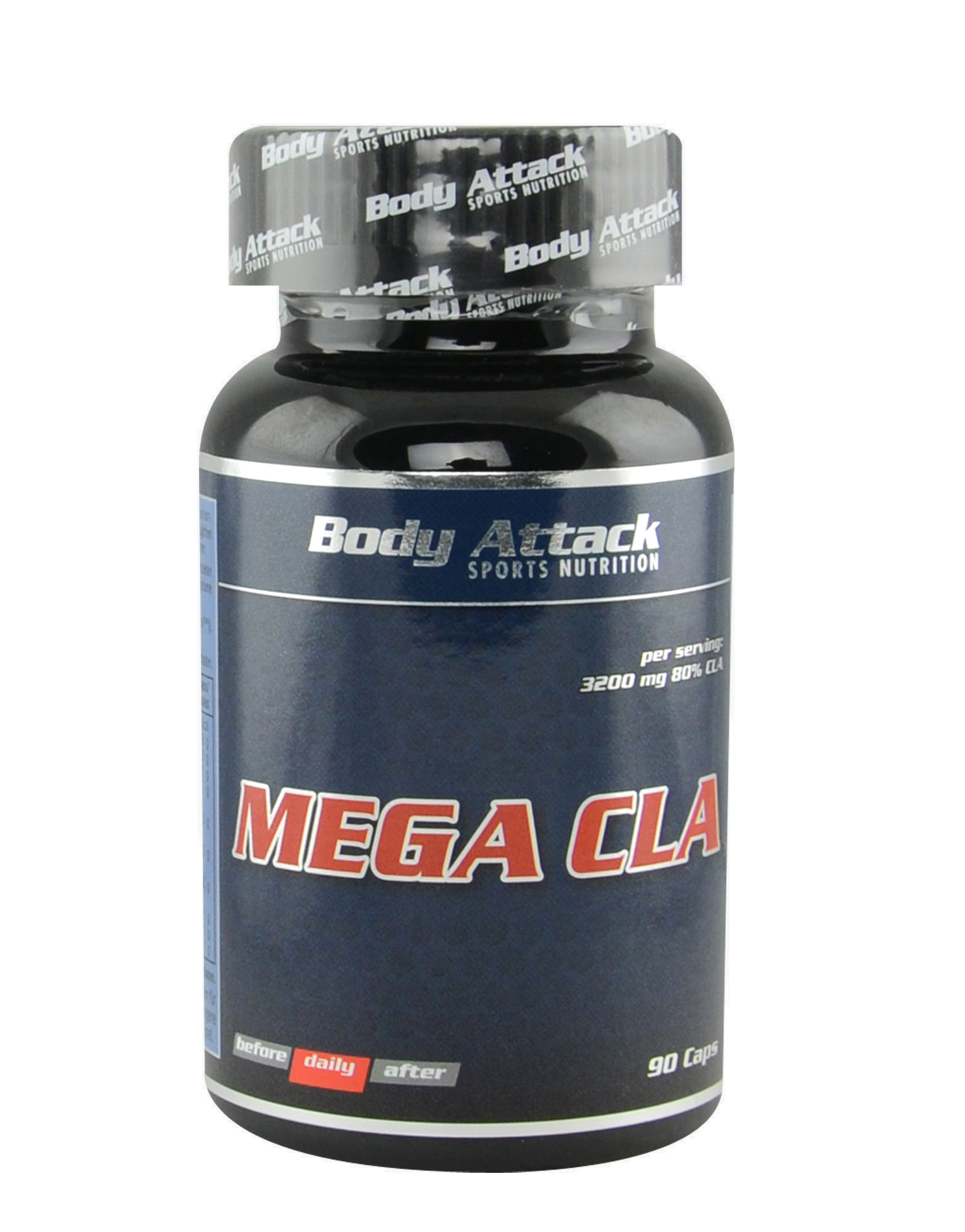 Mega CLA by Body attack, 90 capsules - iafstore com