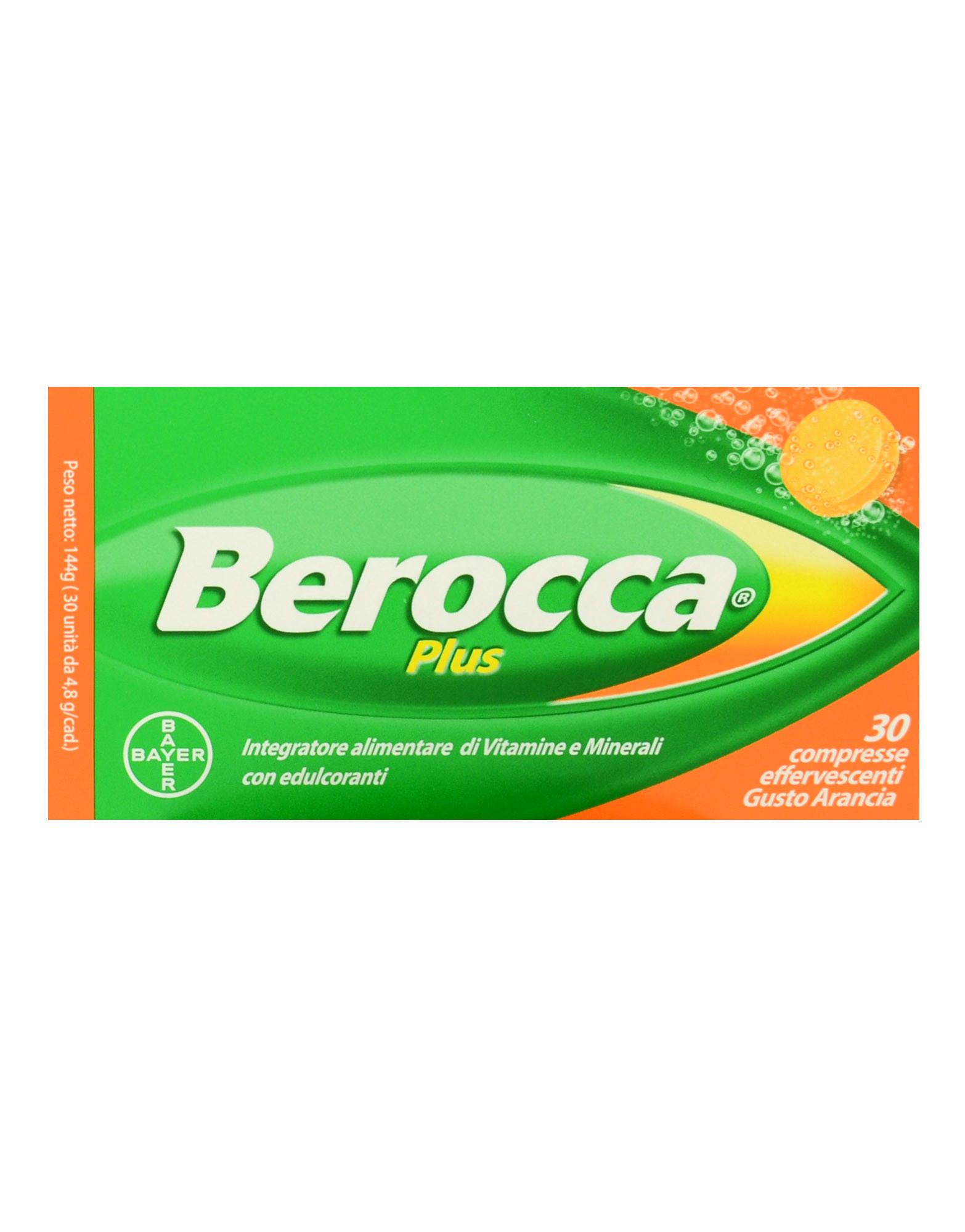 92018a101c5267 Berocca Plus por BAYER (30 comprimidos efervescentes)