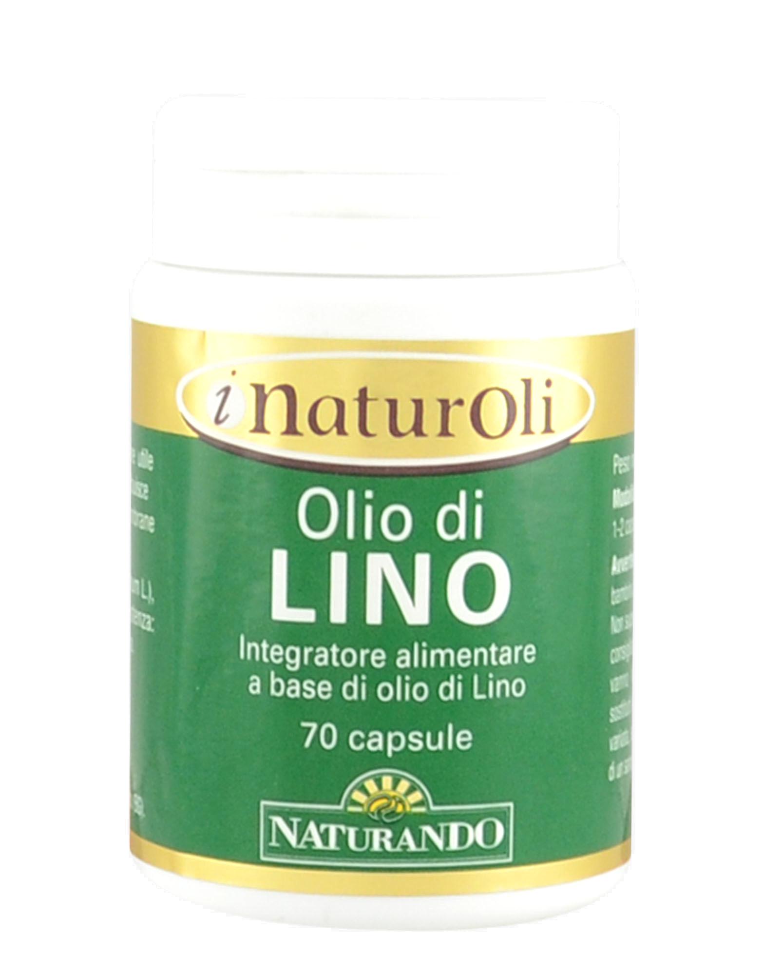 I NaturOli - Olio di Lino 70 capsule