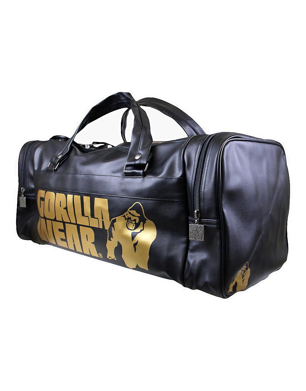 962e8bb392f4 Gym Bag Gold Edition by GORILLA WEAR (colour  black)