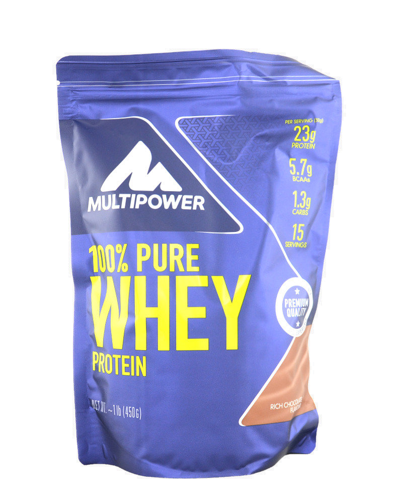 100 pure whey protein multipower 450 grammes 12 59. Black Bedroom Furniture Sets. Home Design Ideas