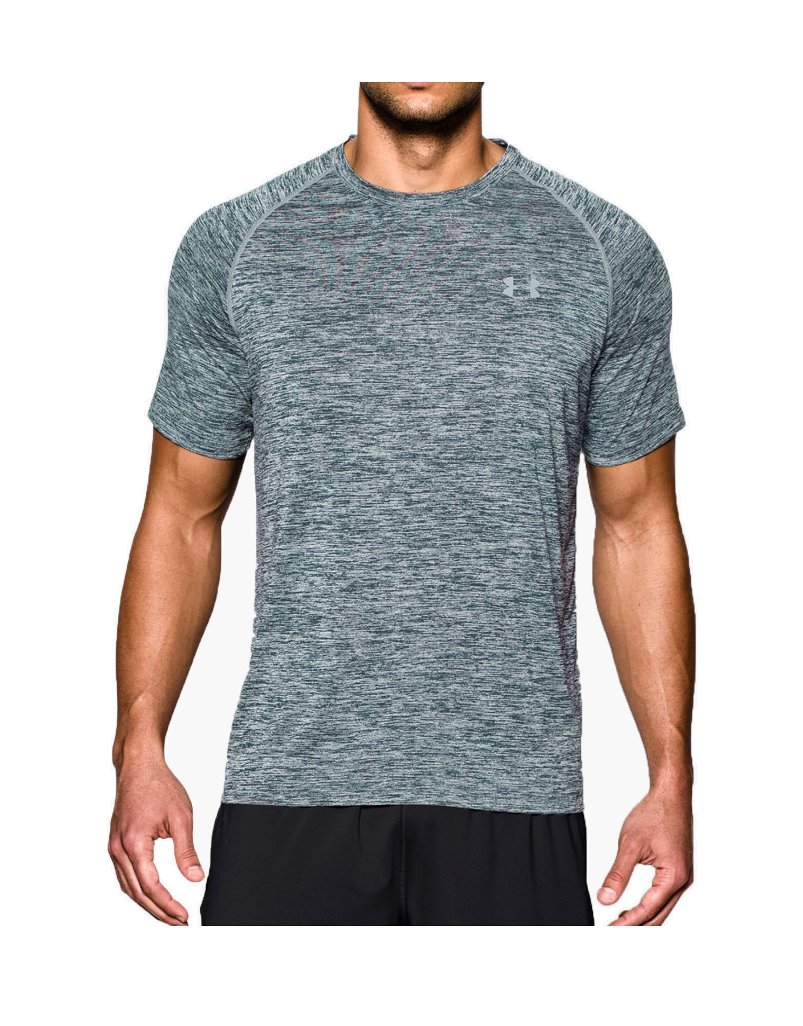 Men 39 s ua tech short sleeve t shirt by under armour colour for Under armour men s tech short sleeve t shirt