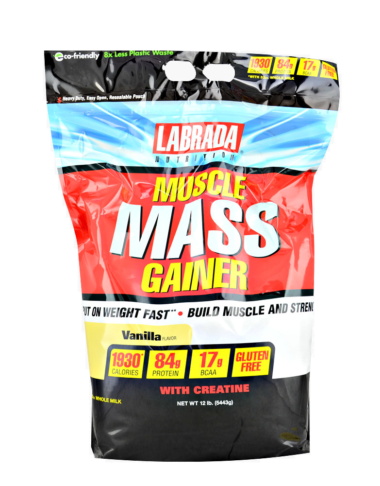 Muscle Mass Gainer by LABRADA NUTRITION (5443 grams) £ 46,63