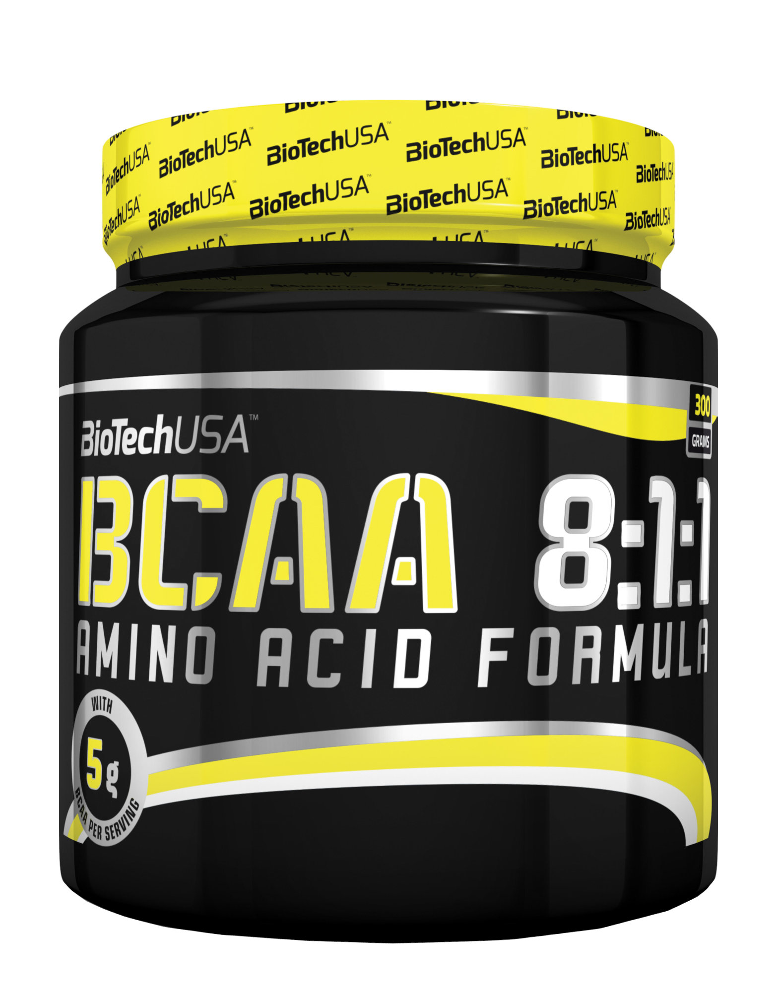 bcaa 8 1 1 biotech usa 300 grammes 21 79. Black Bedroom Furniture Sets. Home Design Ideas