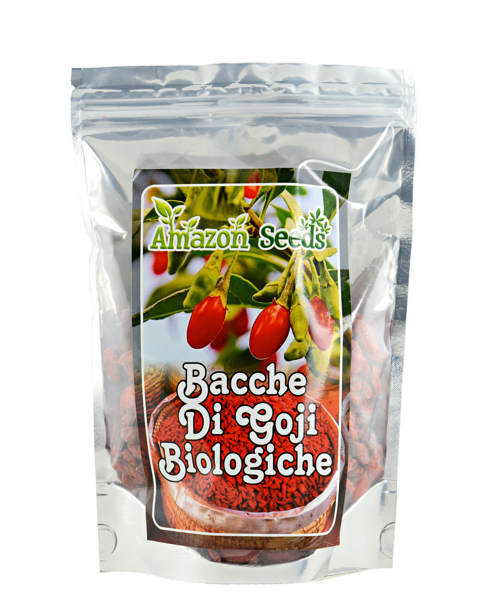 Organic Goji Berries By Amazon Seeds 250 Grams