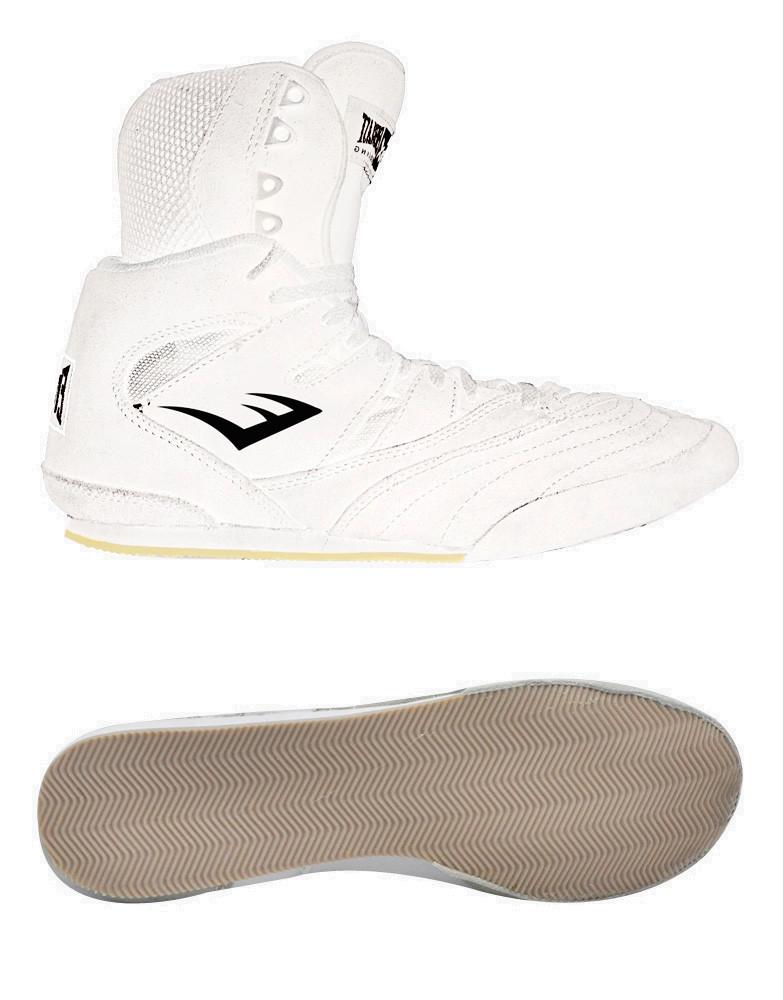 Professional Suede Boxing Hi-Top Shoe