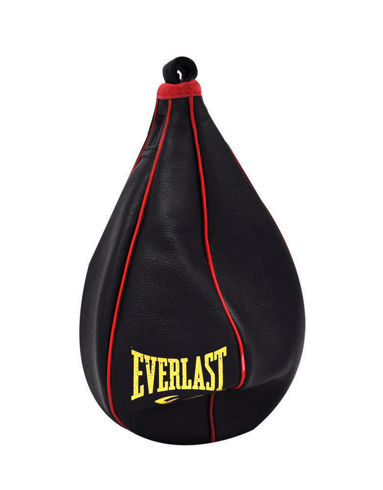 professional speed bag by everlast boxing colour black