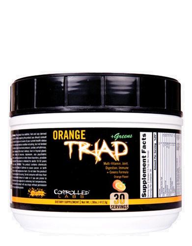 Orange Triad + Greens by CONTROLLED