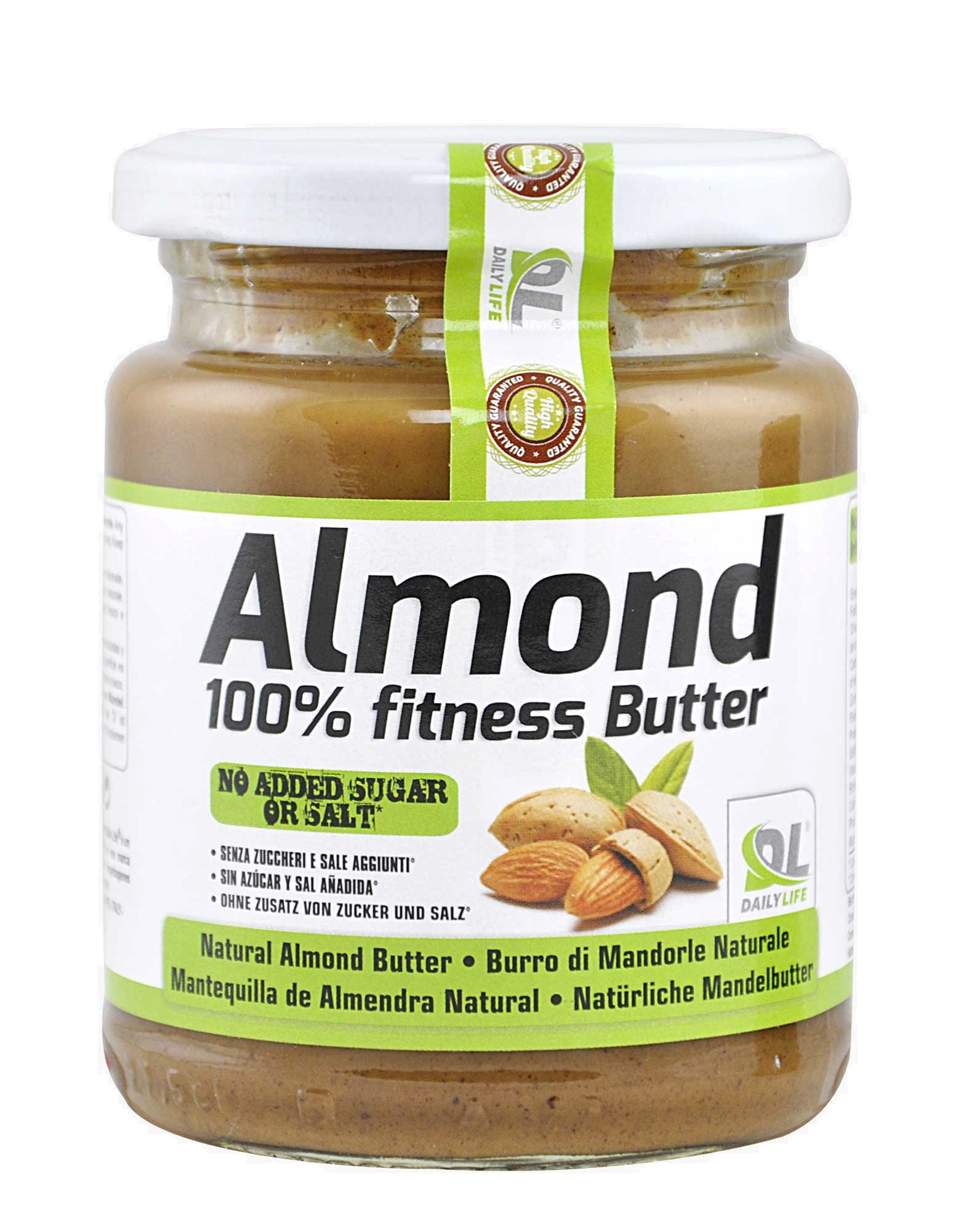 Almond 100% Fitness Butter by DAILY LIFE (250 grams)1566 x 2000 jpeg 253kB