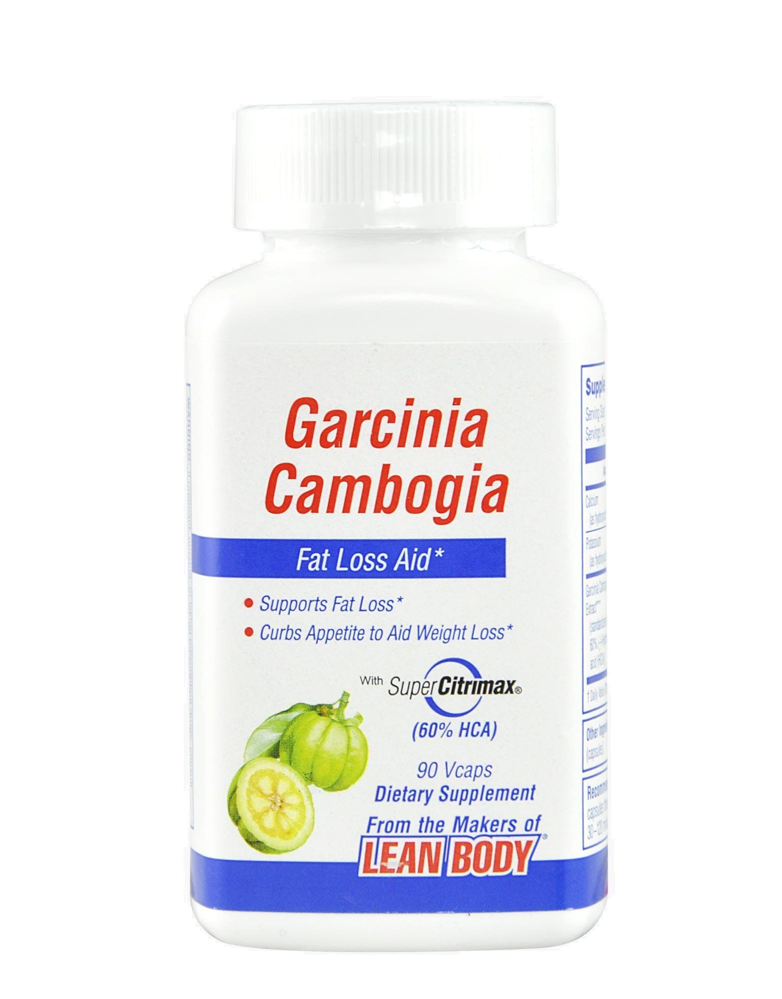 garcinia cambogia 60 recensioni hca