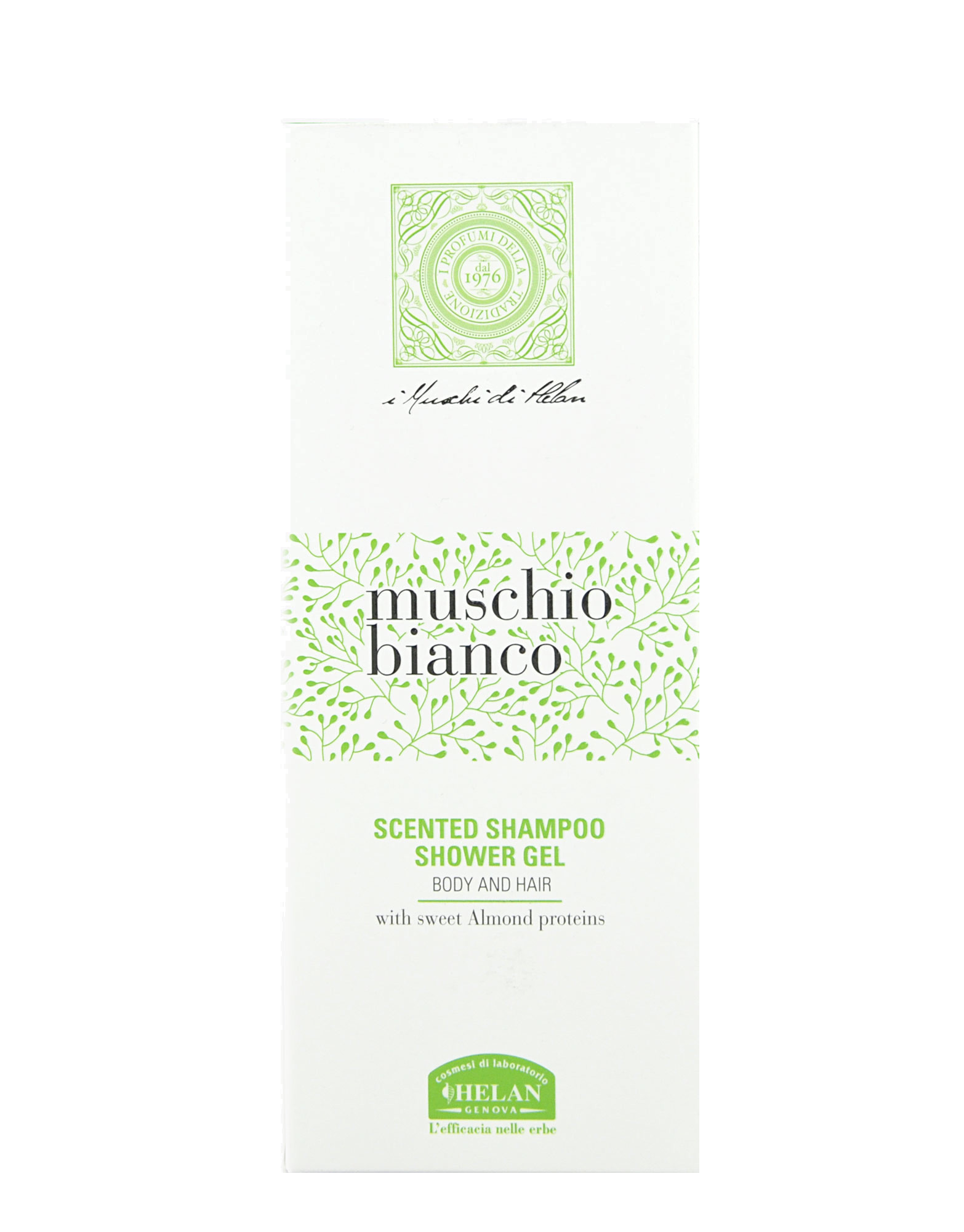 White Moss - Scented Shampoo Shower Gel 200ml