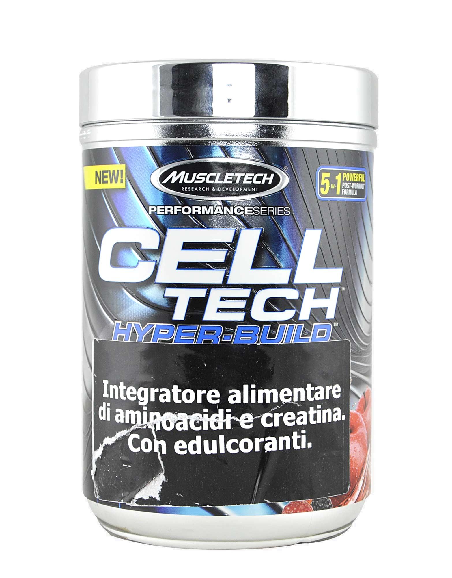 Cell Tech Hyper Build Performance Series Di Muscletech