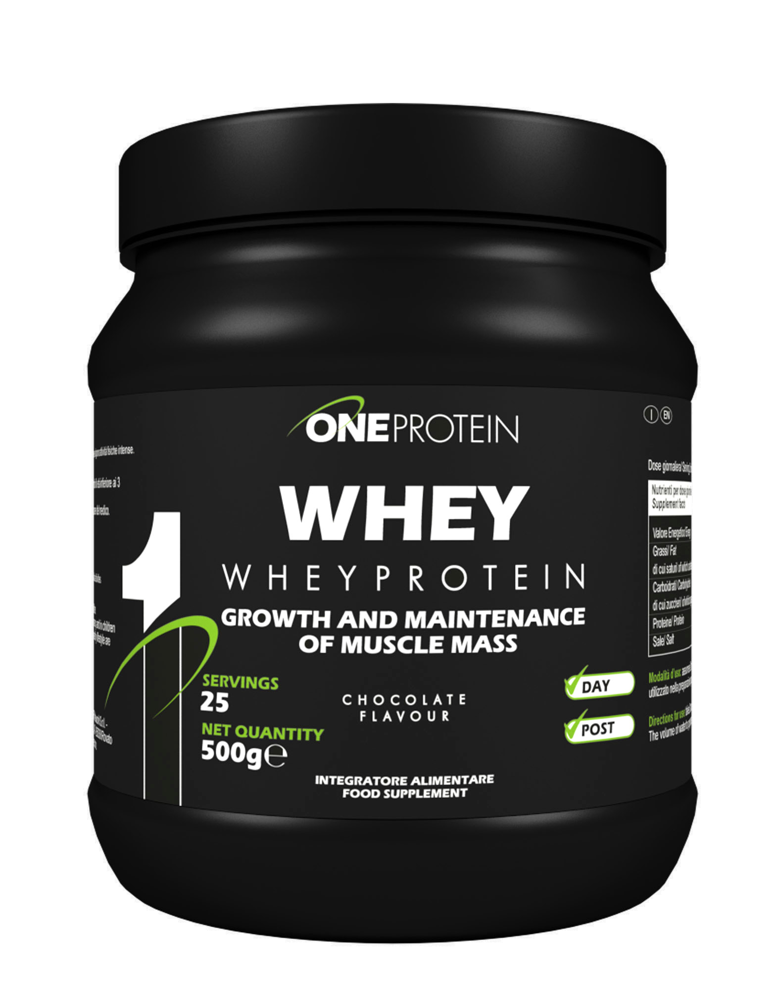 one whey protein
