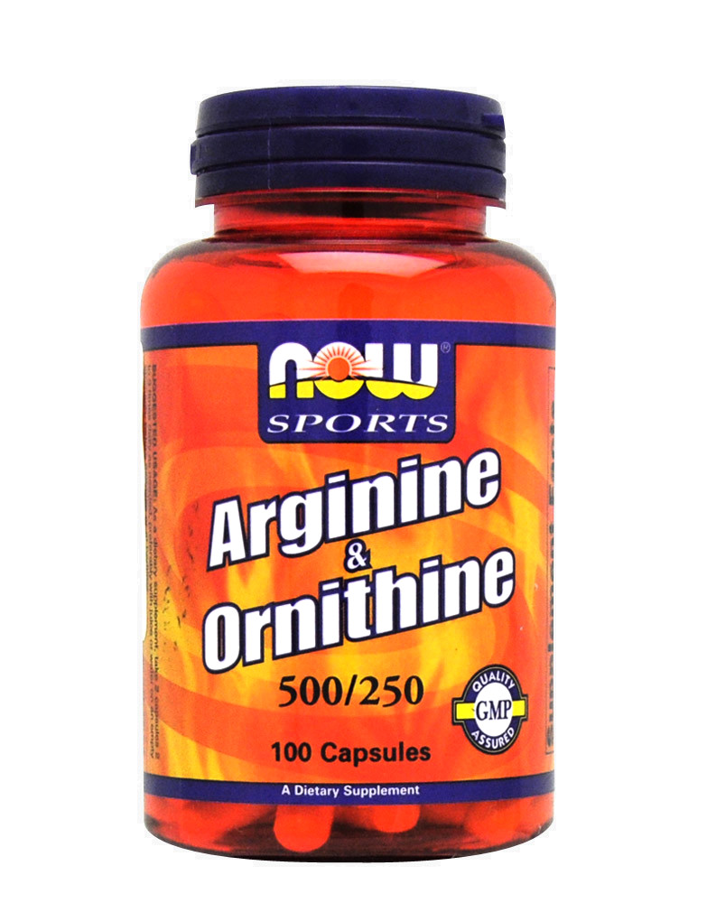 l ornithine supplement arginine amp ornithine by now foods 100 capsules 5208