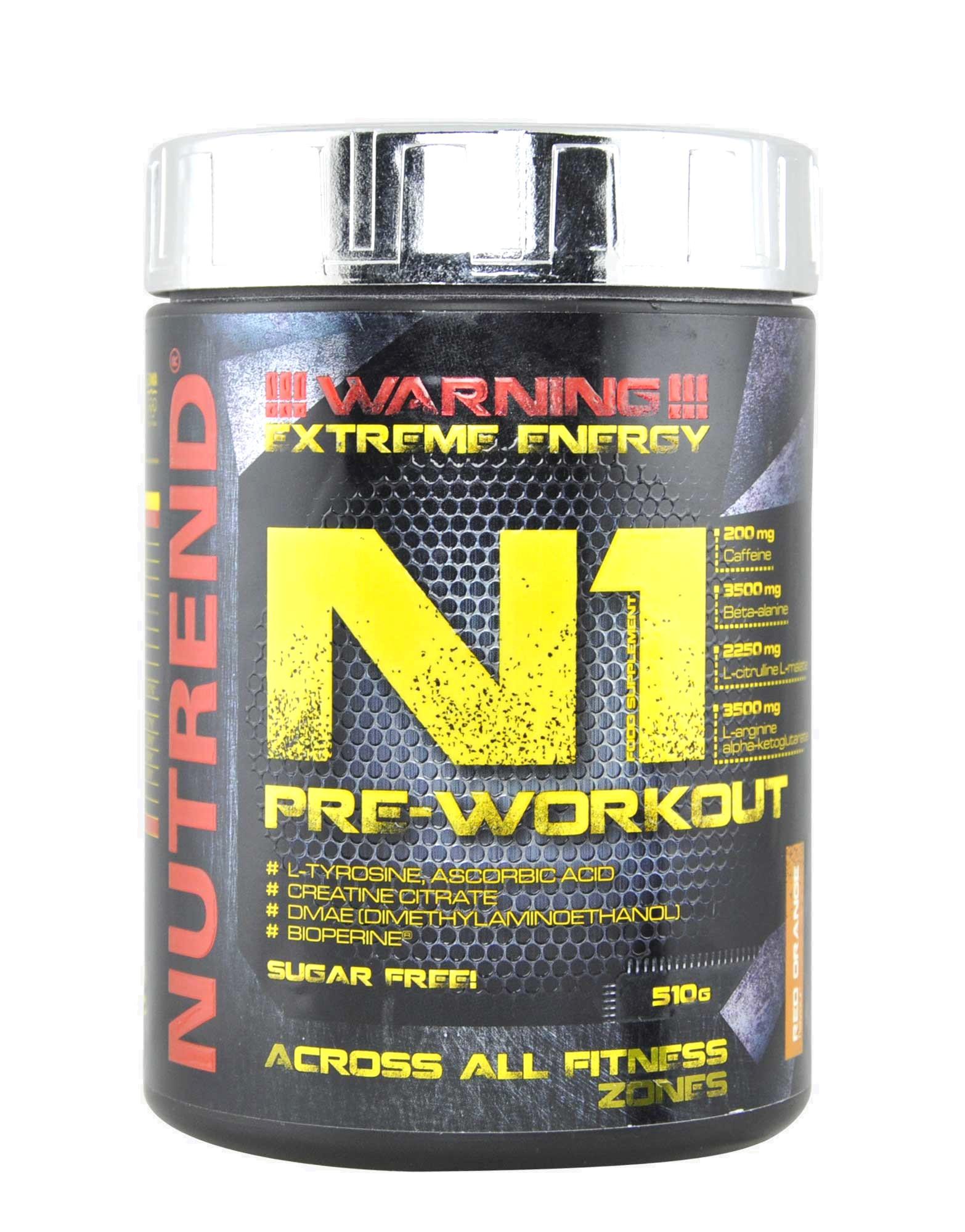 N1 Pre-Workout by NUTREND (510 grams) 25cc195da2d3b
