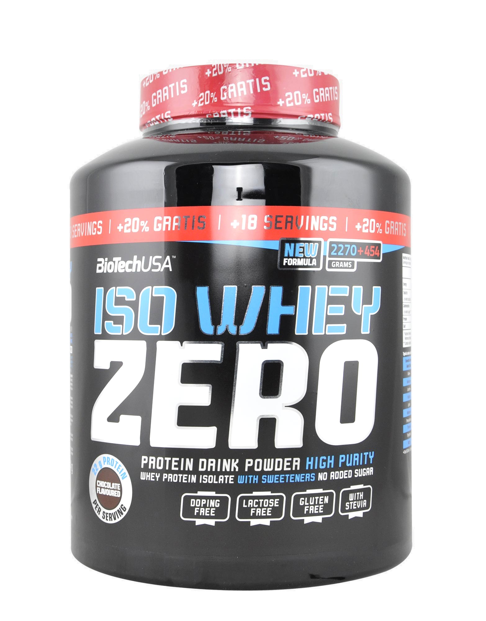 iso whey zero by biotech usa 2270 gr 454gr free. Black Bedroom Furniture Sets. Home Design Ideas